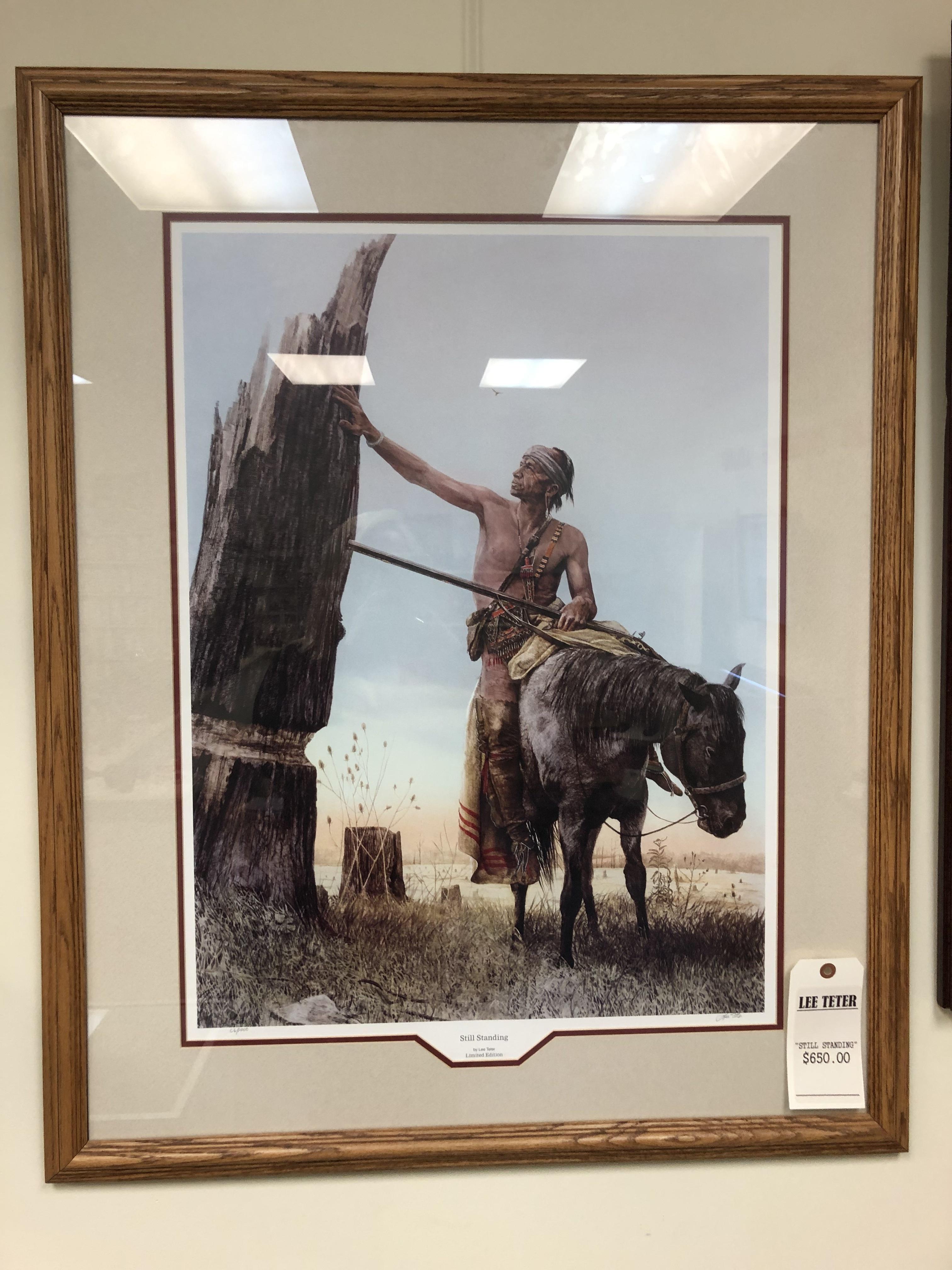 ART/COLLECTIBLES: LEE TETER - STILL STANDING