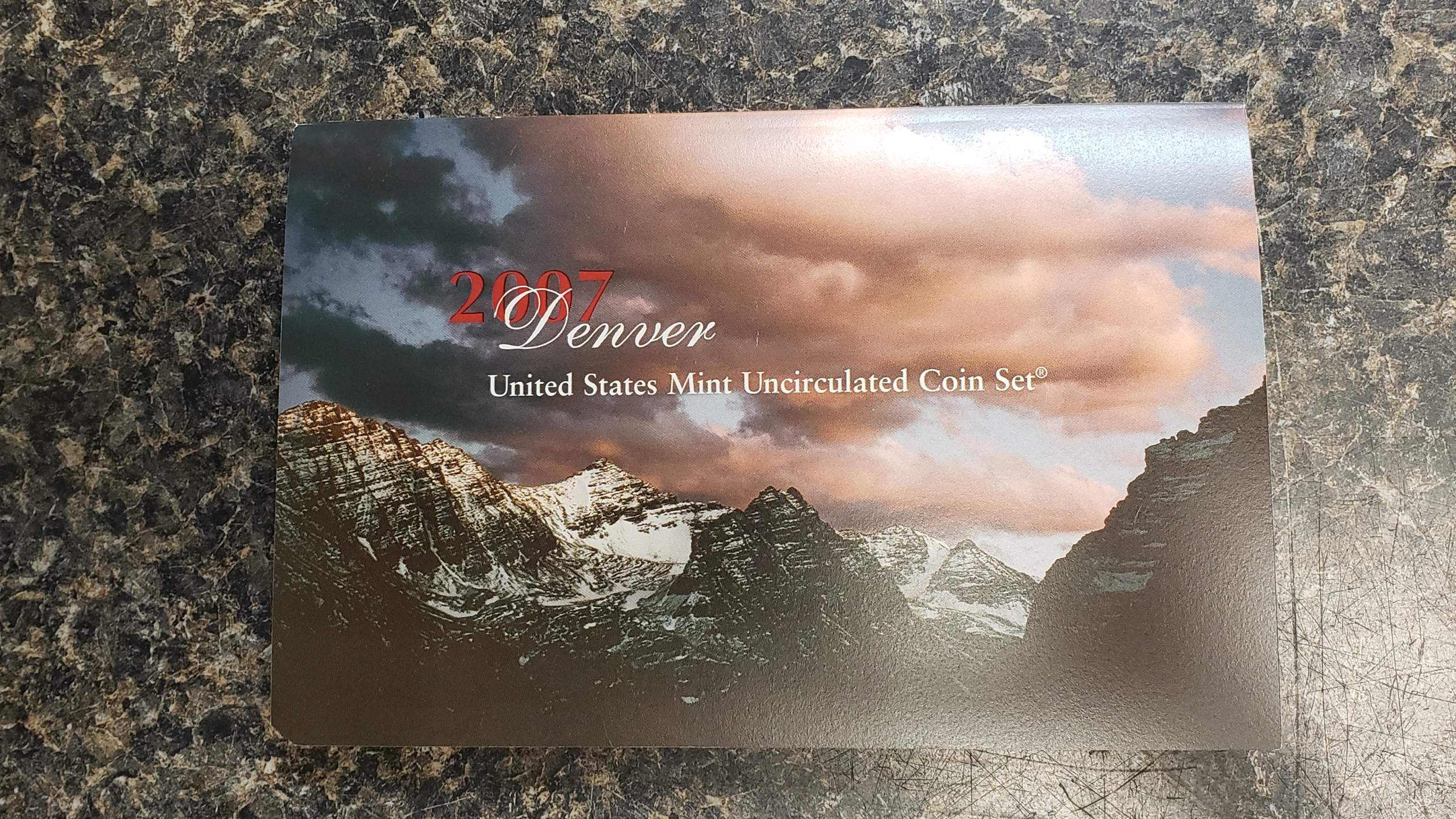 2007 CIRCULATED COIN SET