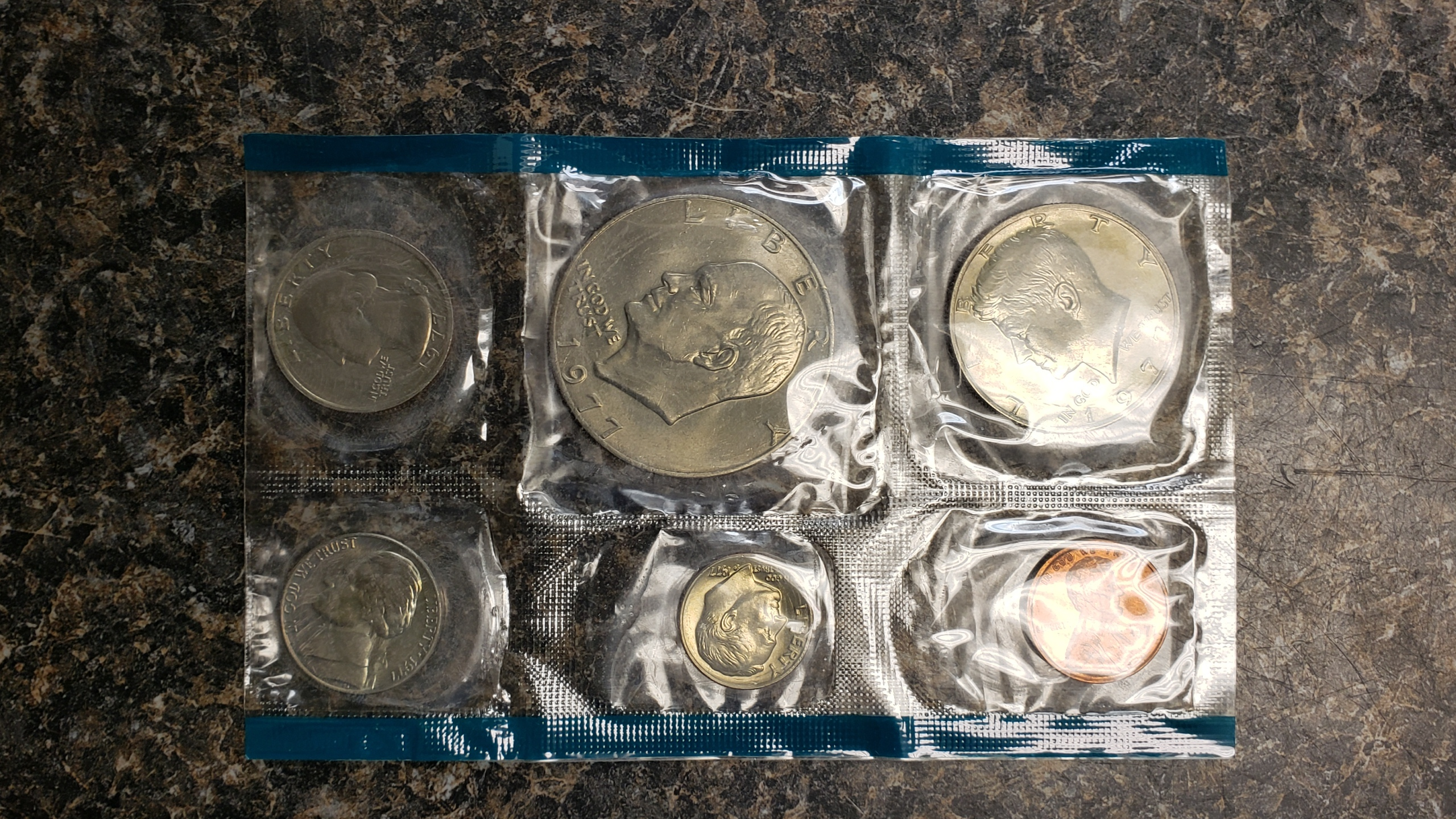 US COINS 1977 SET
