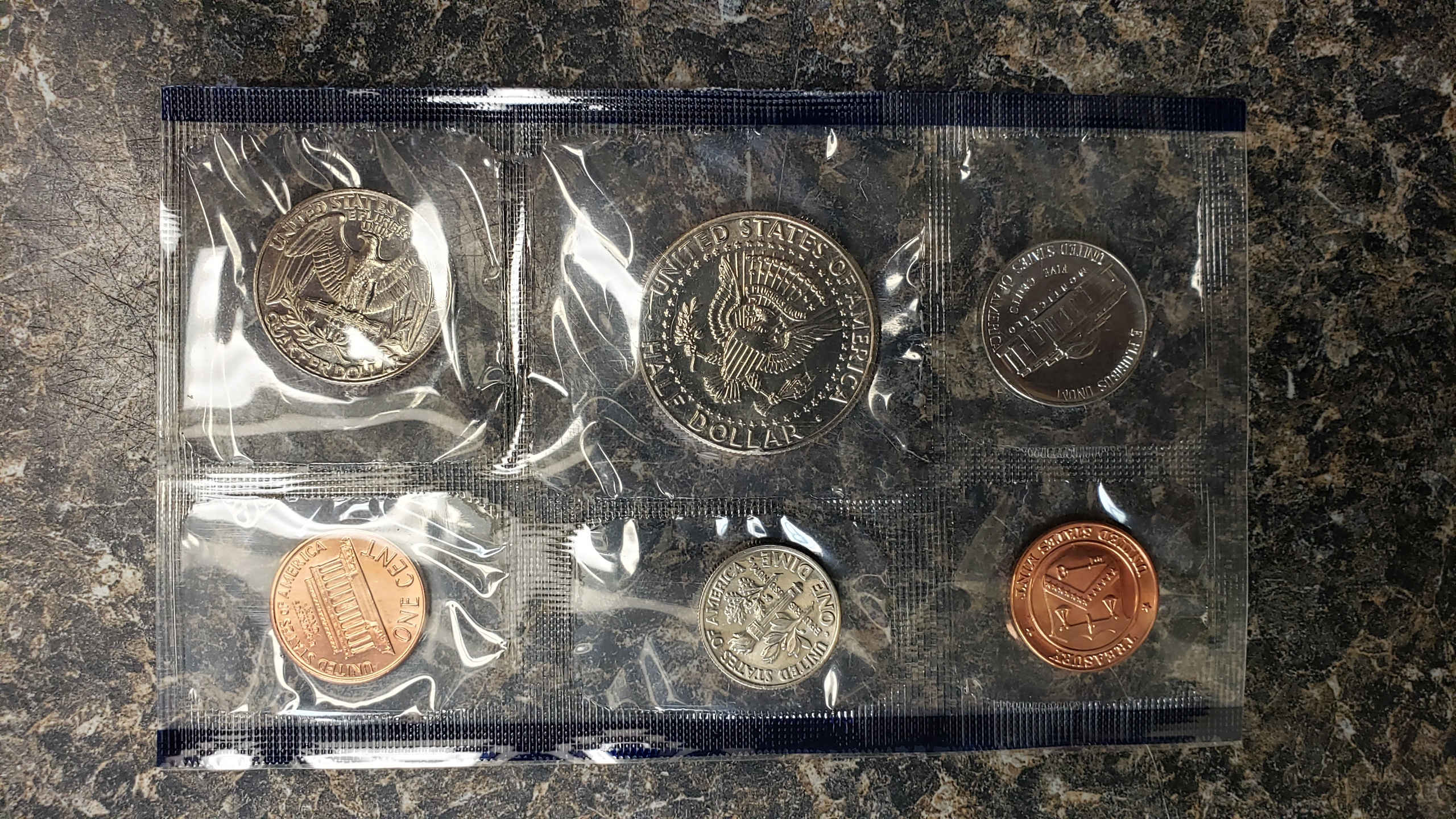 US COINS 1989 SET