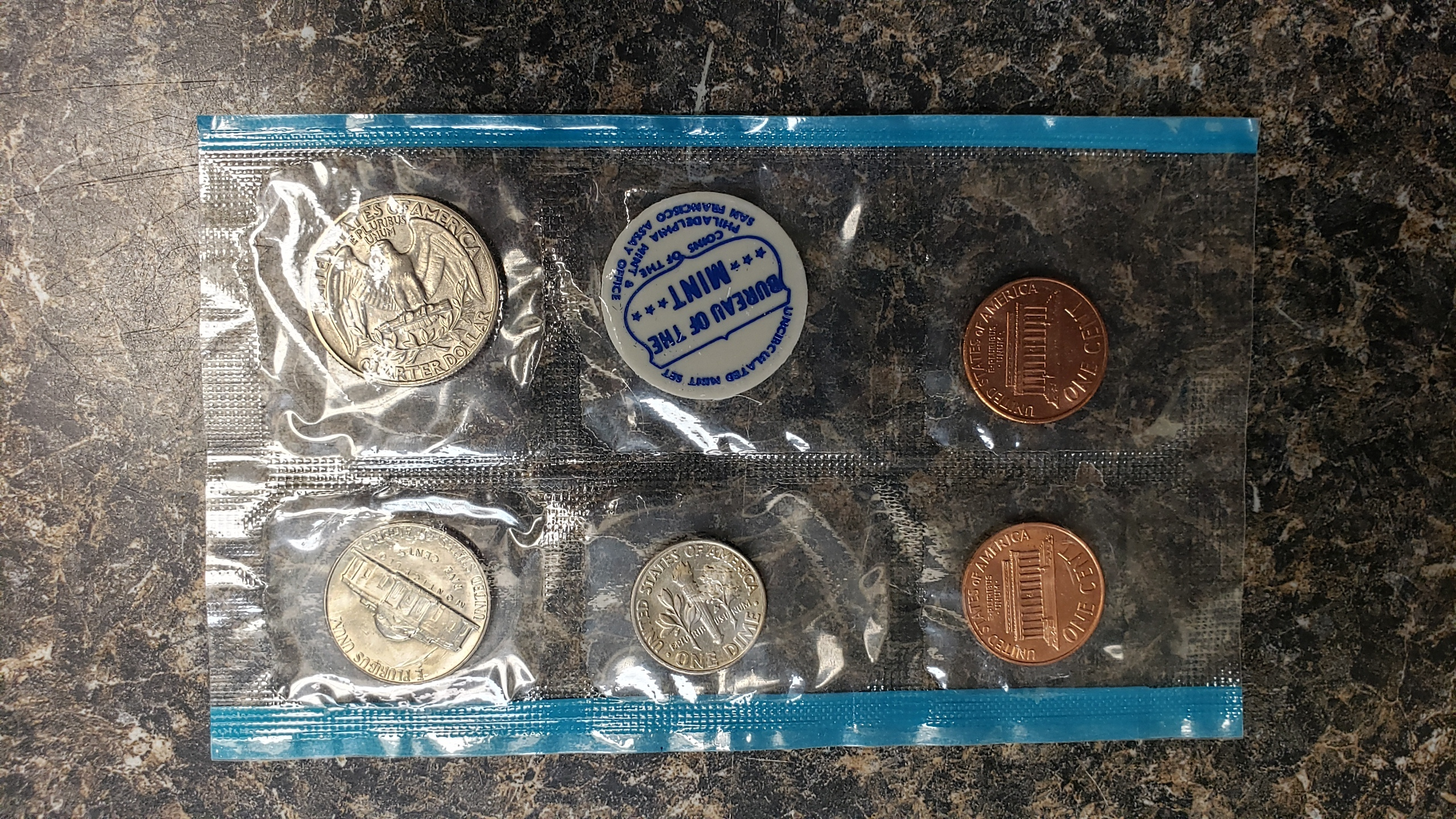 US COIN 1968 SET