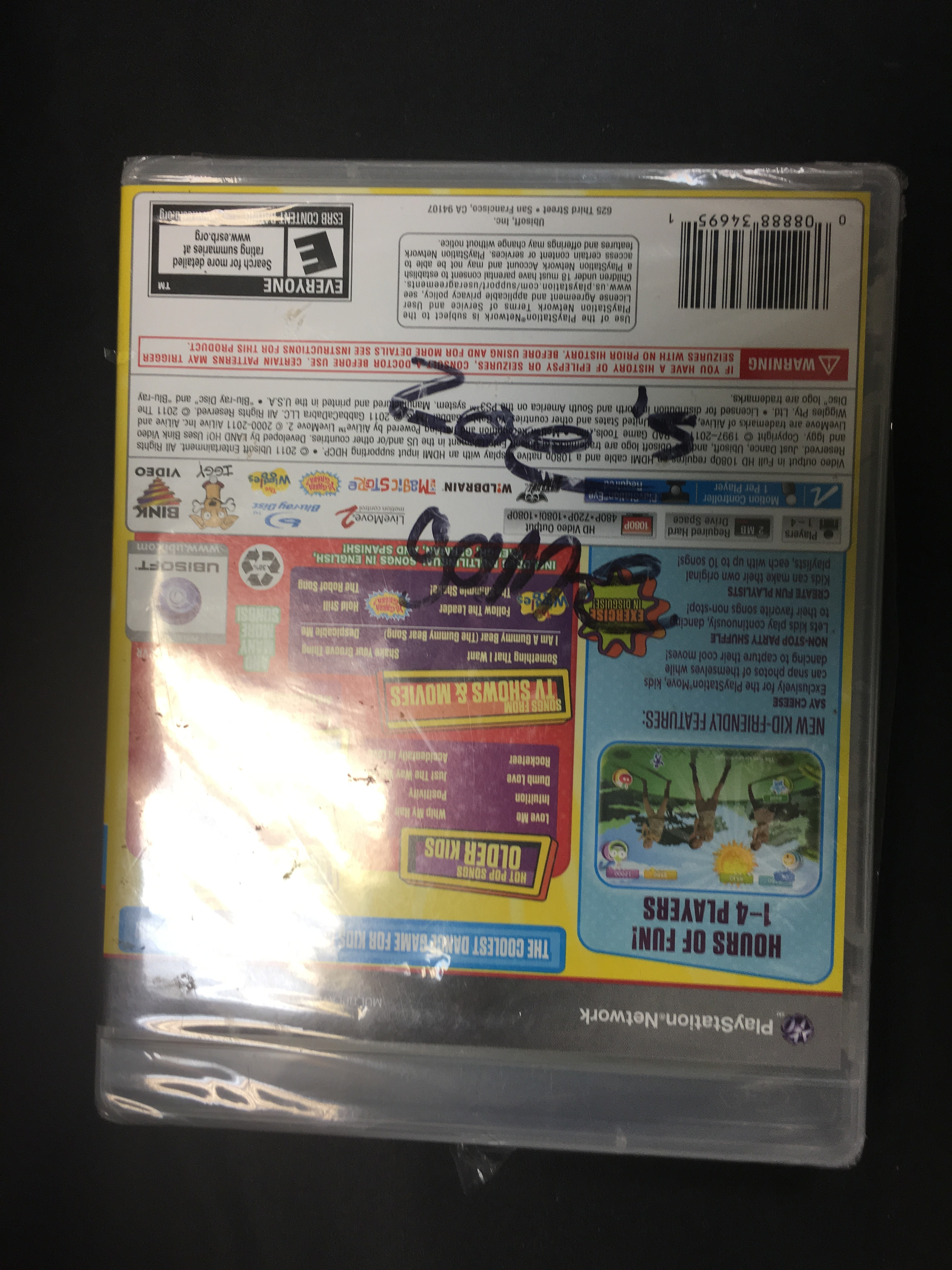GAMES: PS3 GAME - JUST DANCE KIDS 2