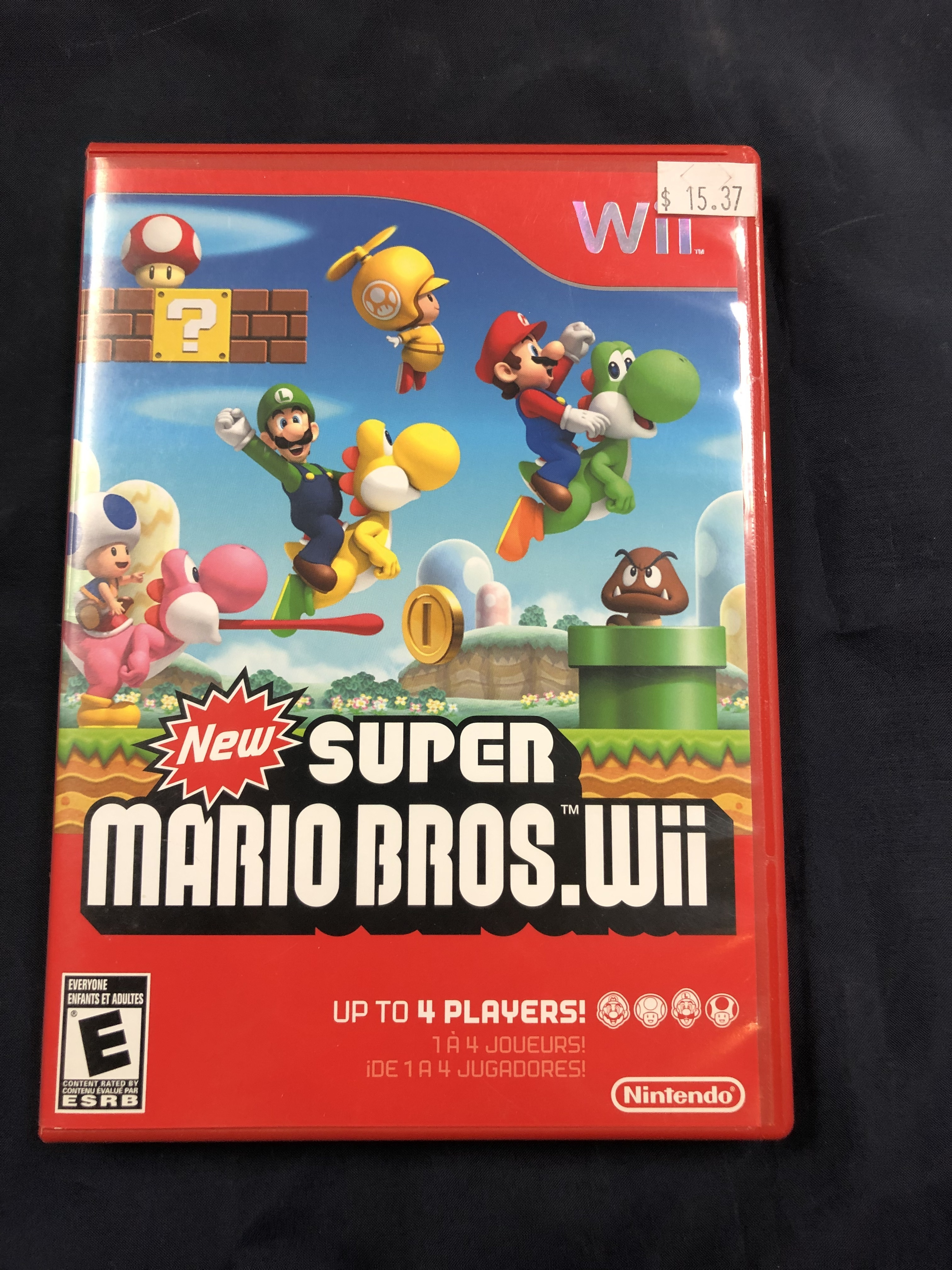GAMES: WII GAME - NEW! SUPER MARIO BRO'S