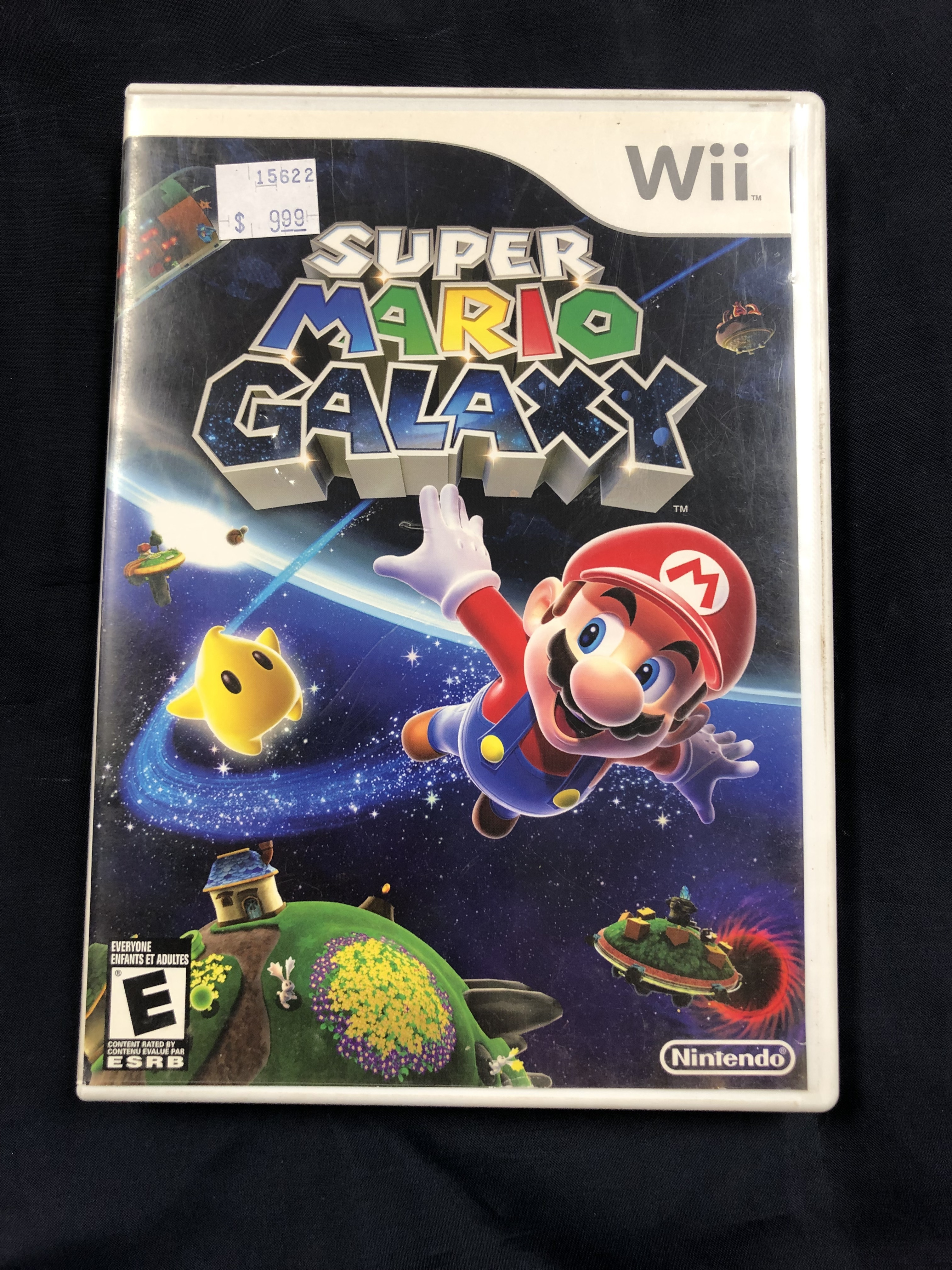 GAMES: WII GAME - SUPER MARIO GALAXY