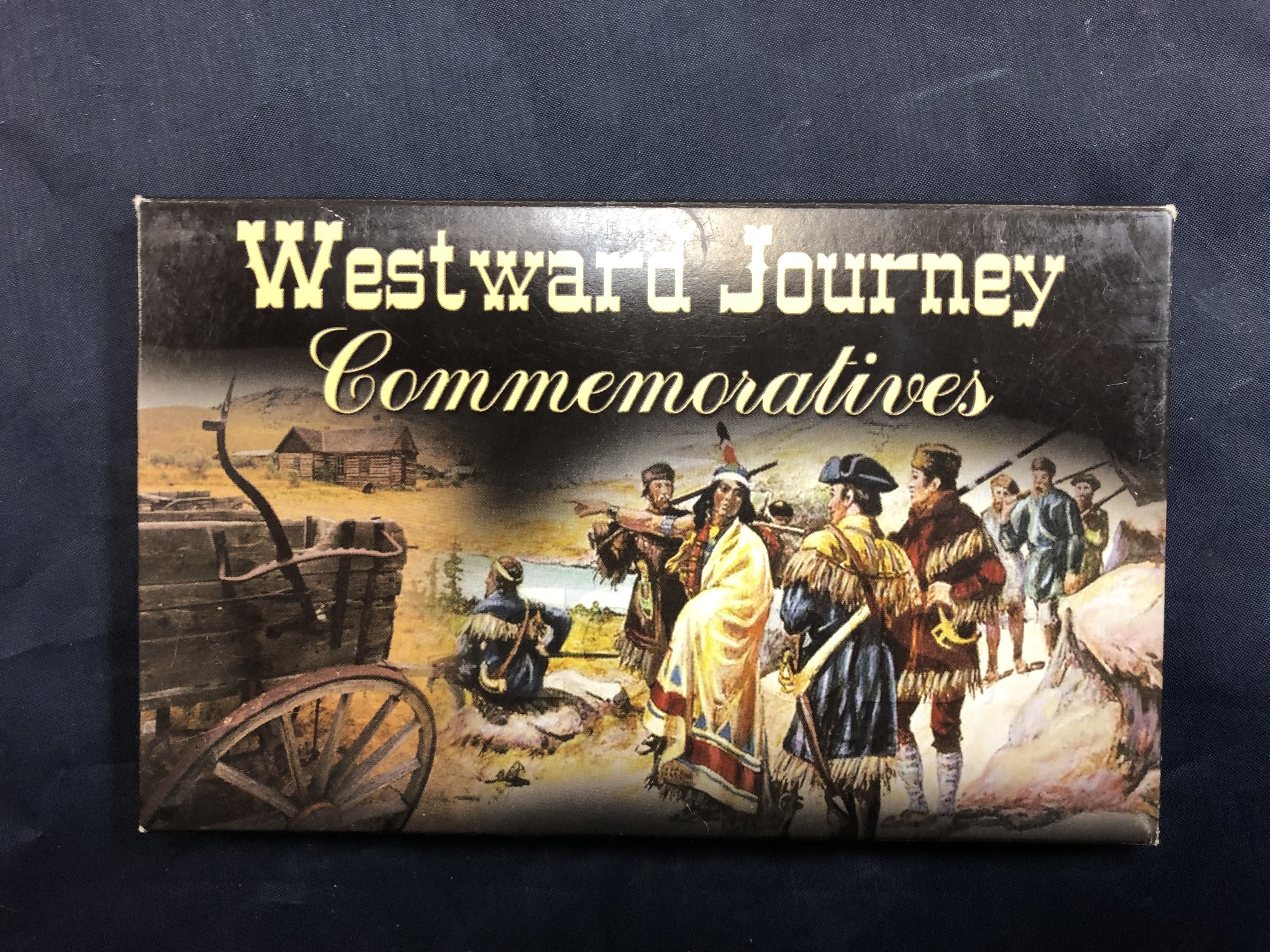THE WESTWARD JOURNEY OCEAN IN VIEW - 2005 PHILADELPHIA AND DENVER GOLD EDITION