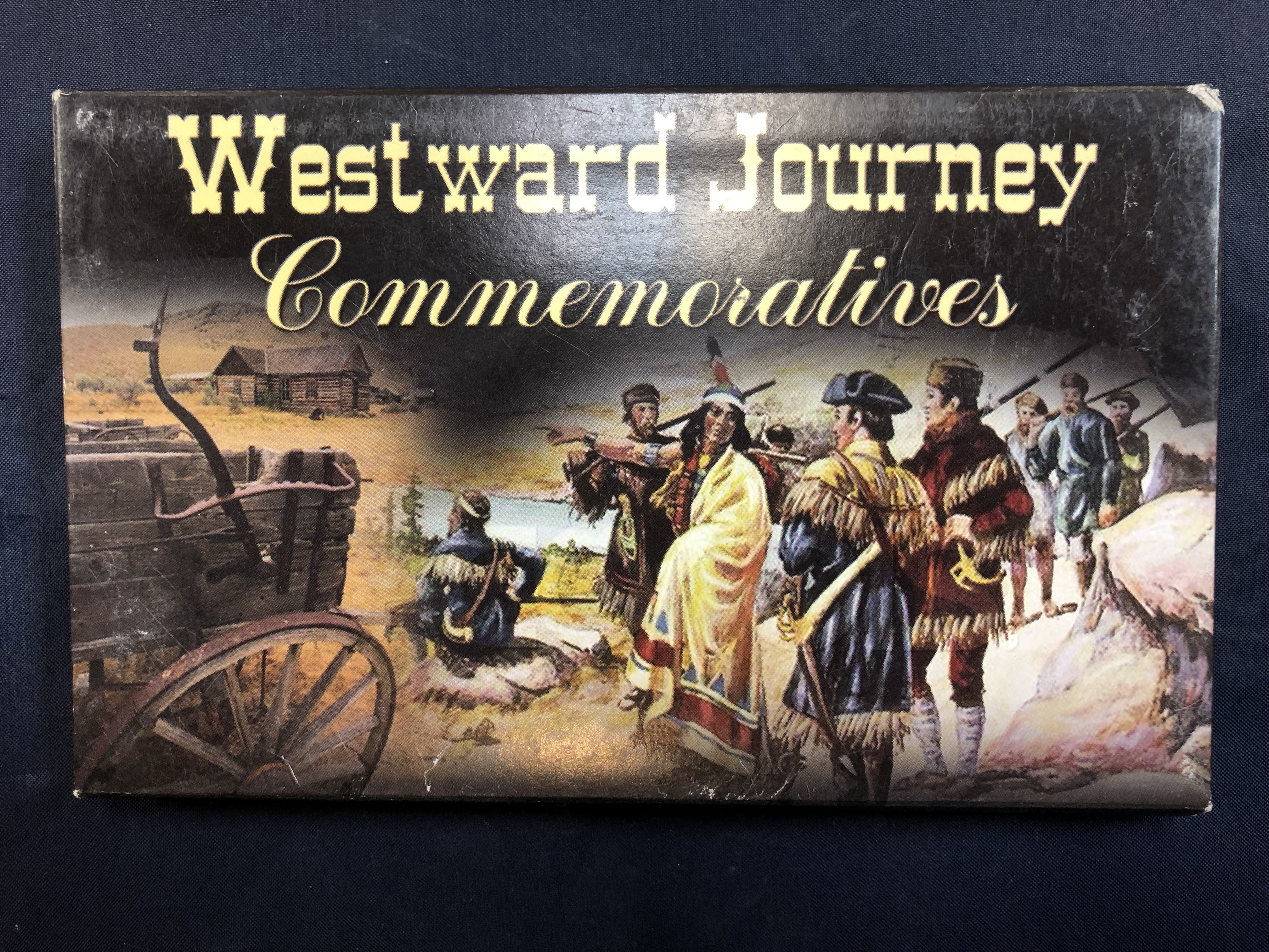 US COINS - THE WESTWARD JOURNEY KEELBOAT 2004 PHILADELPHIA DENVER PLATINUM EDITION