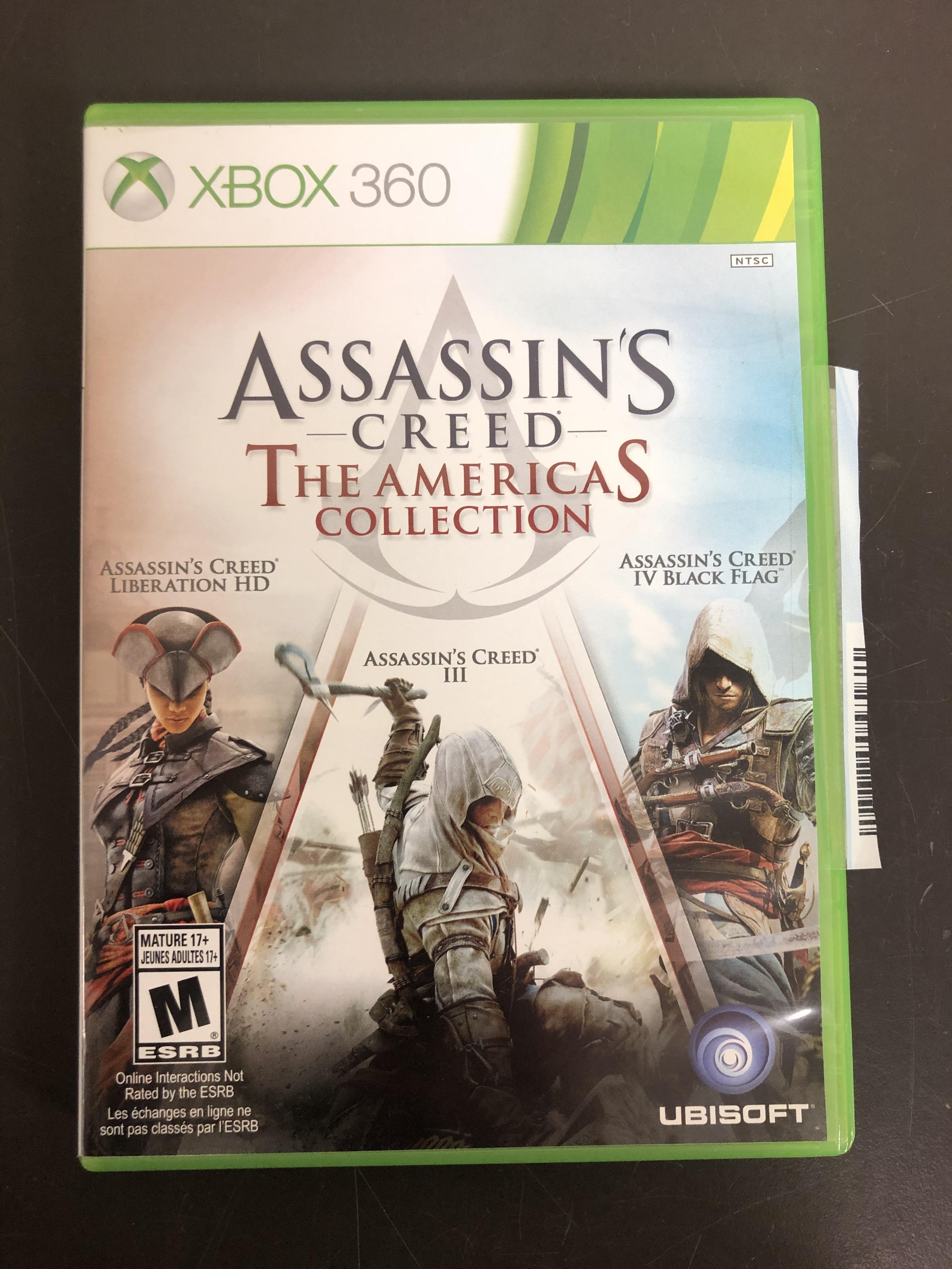 XBOX 360 ASSASSINS CREED: AMERICAS