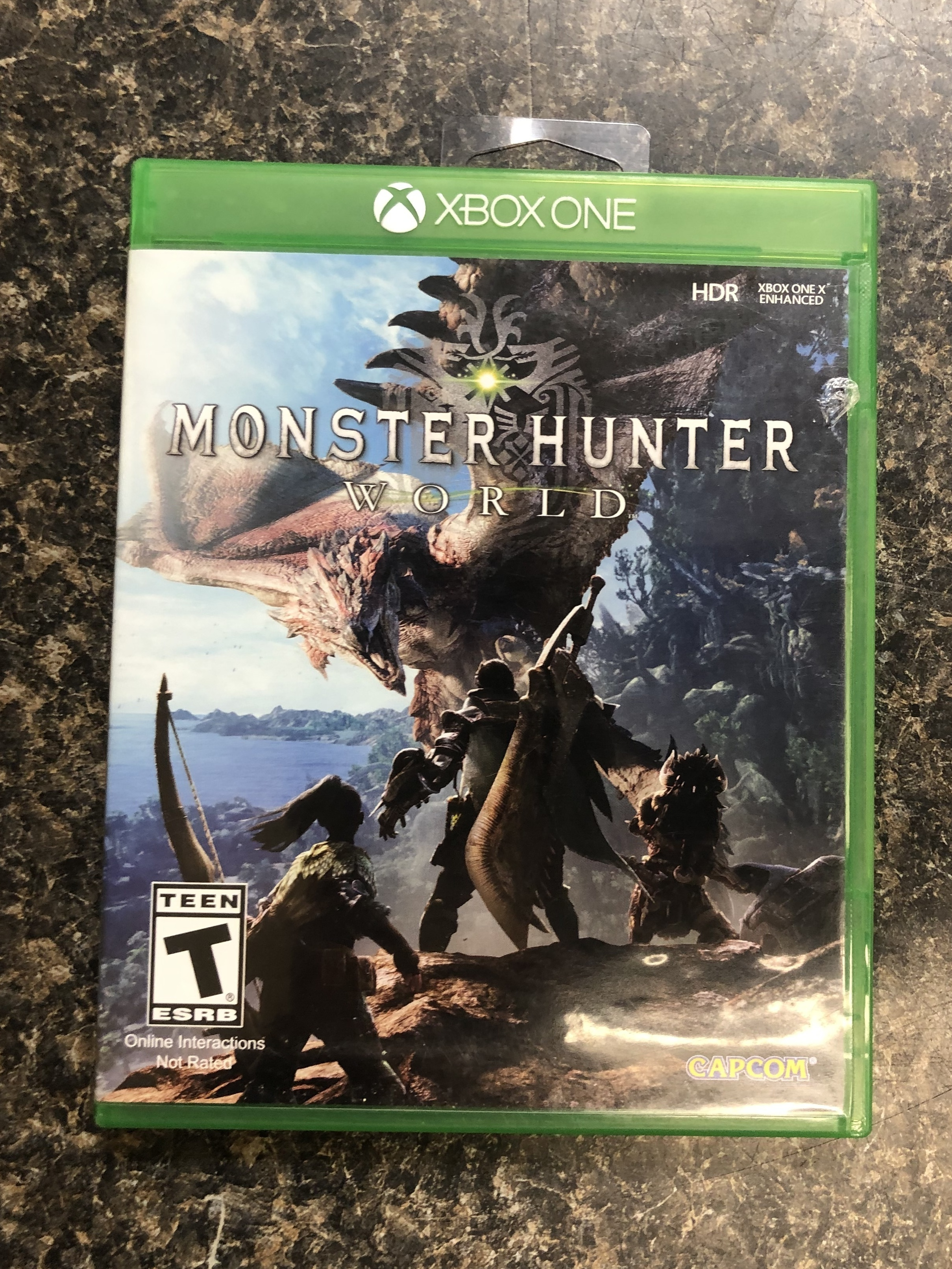 MONSTER HUNTER WORLD - XBOX ONE GAME