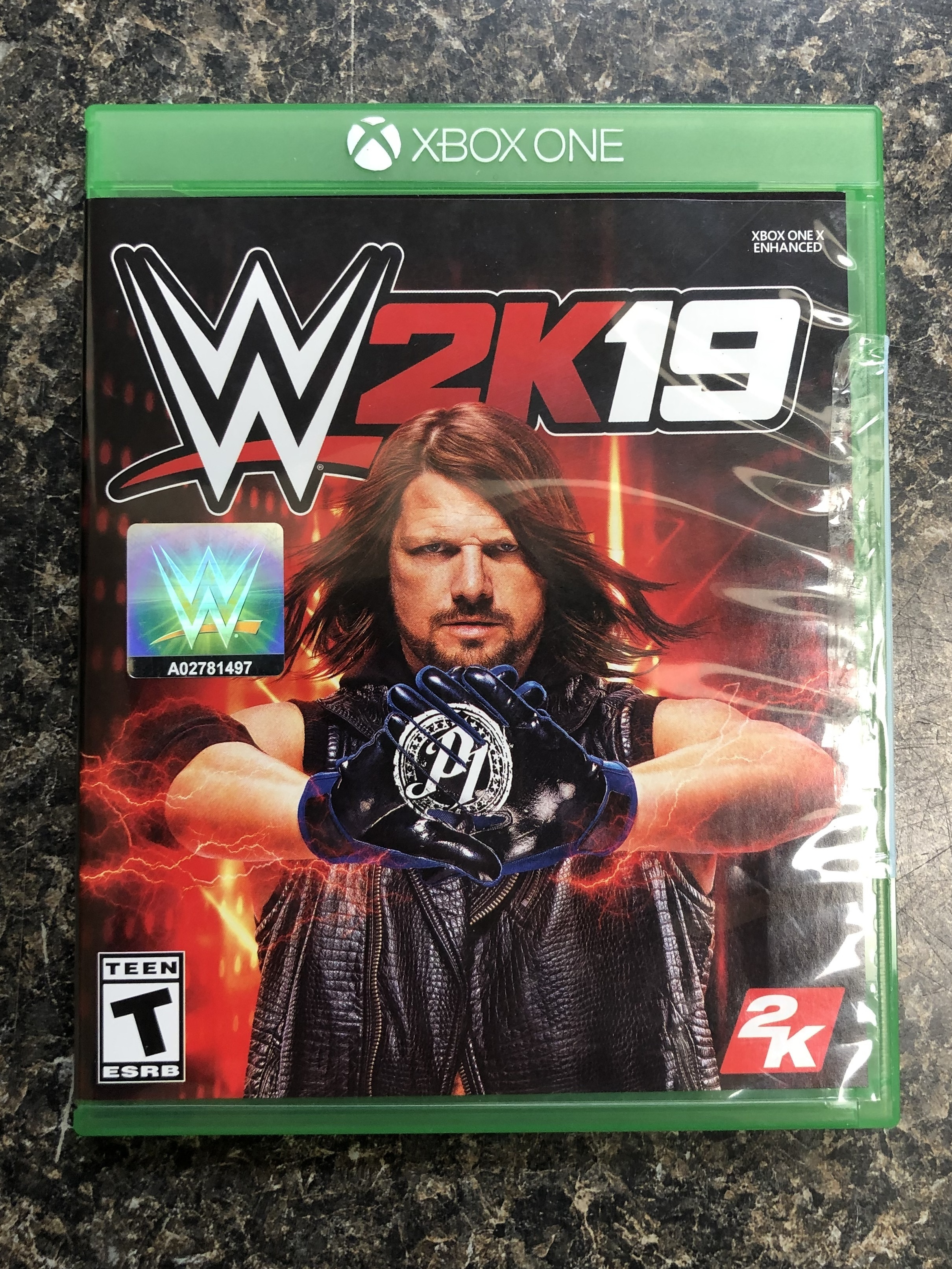 WWE 2K19 - XBOX ONE GAME