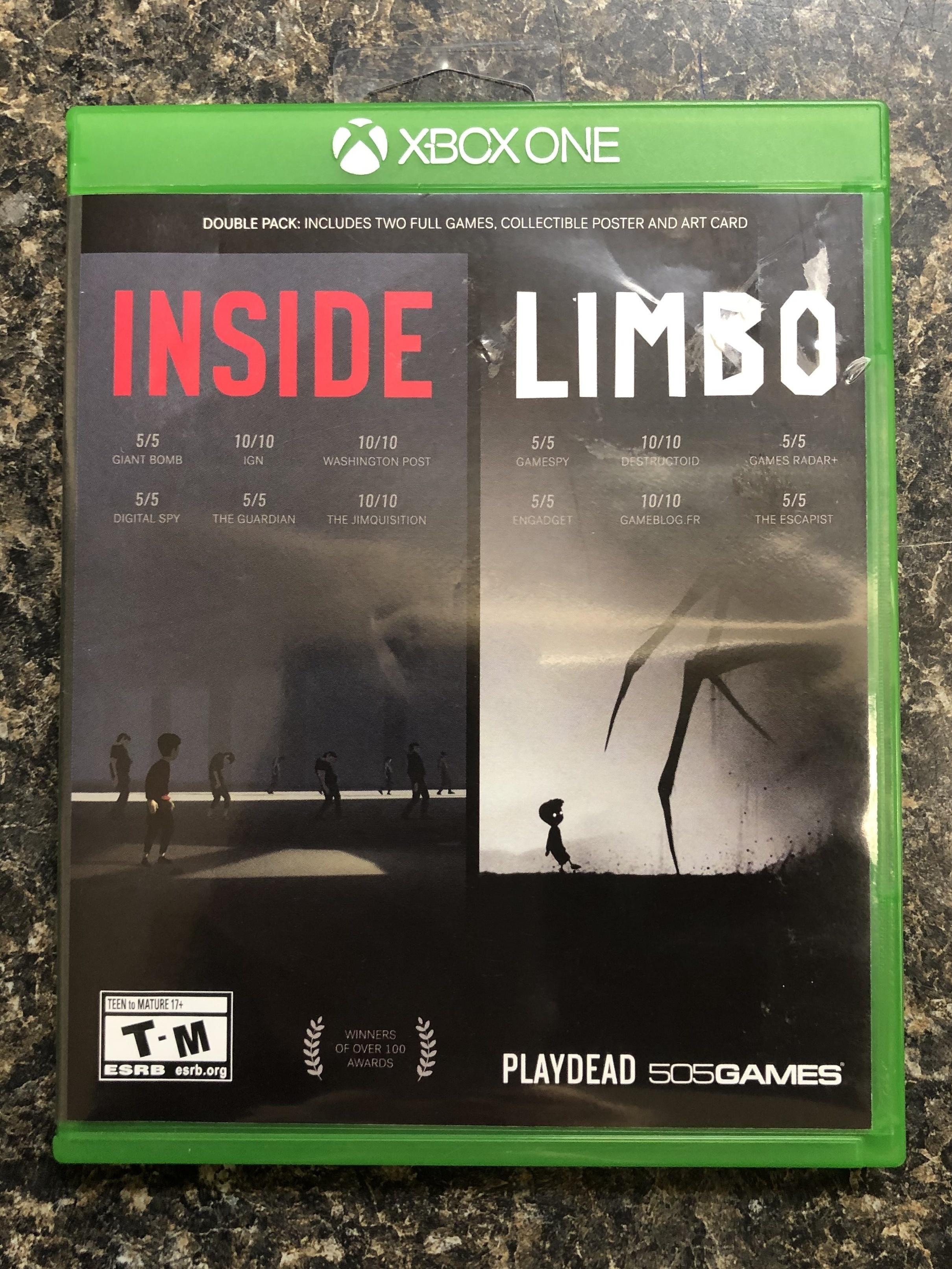 INSIDE LIMBO - XBOX ONE GAMES