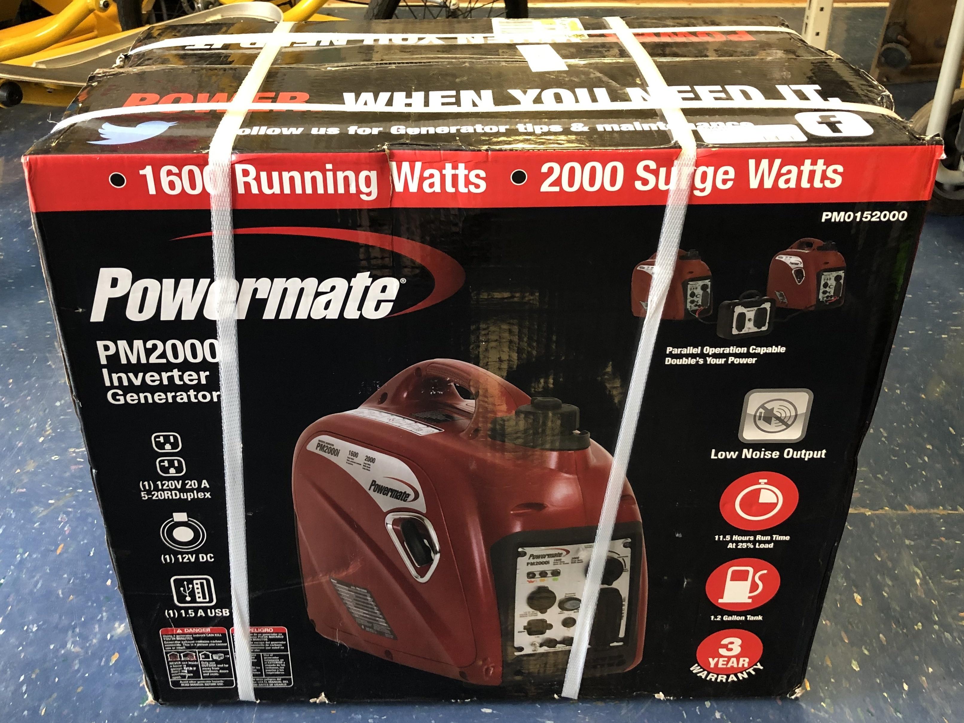 Powermate Inverter Generator - PM0152000