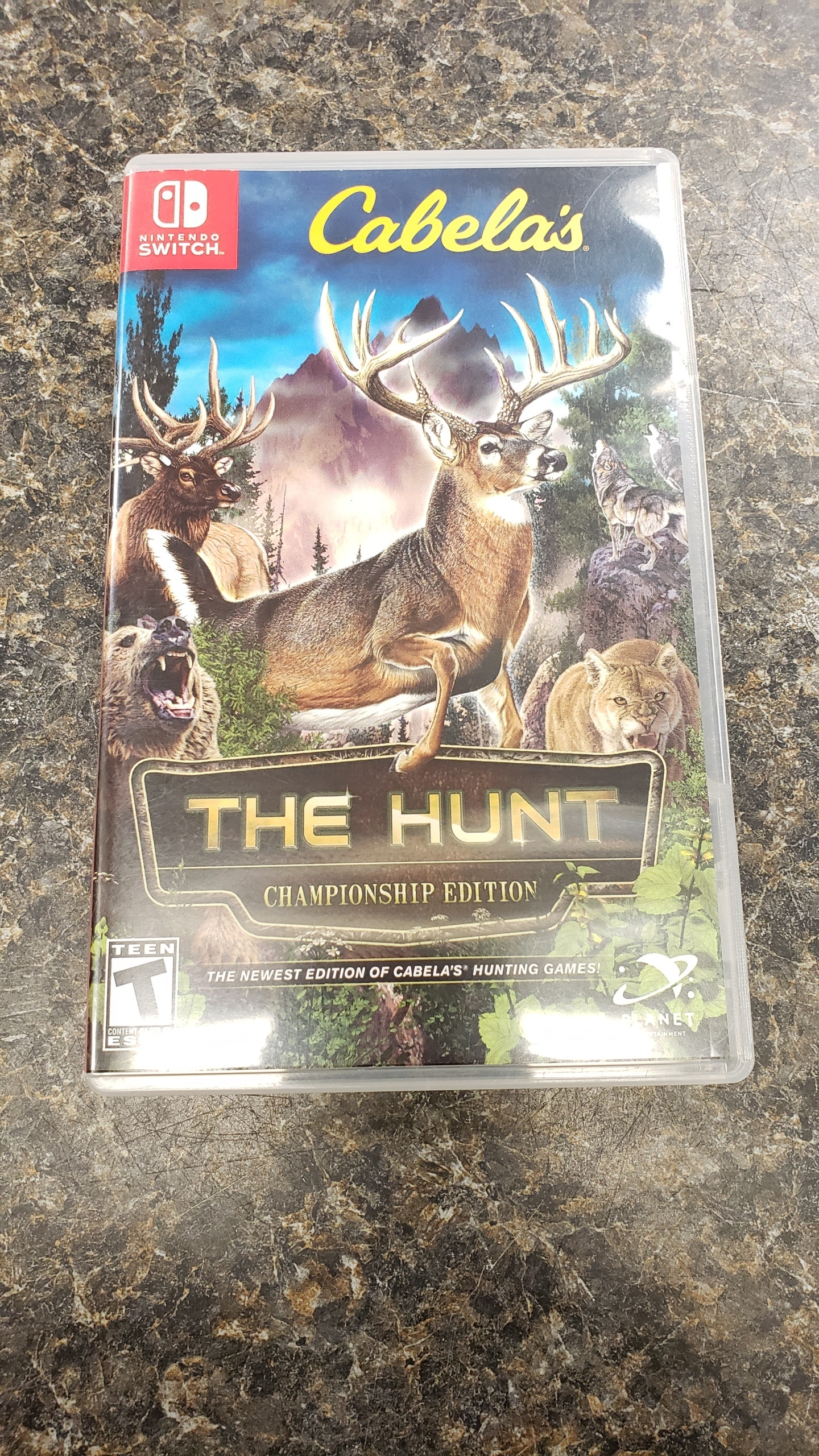 CABELA'S THE HUNT CHAMPIONSHIP EDITION - NINTENDO SWITCH - GAME