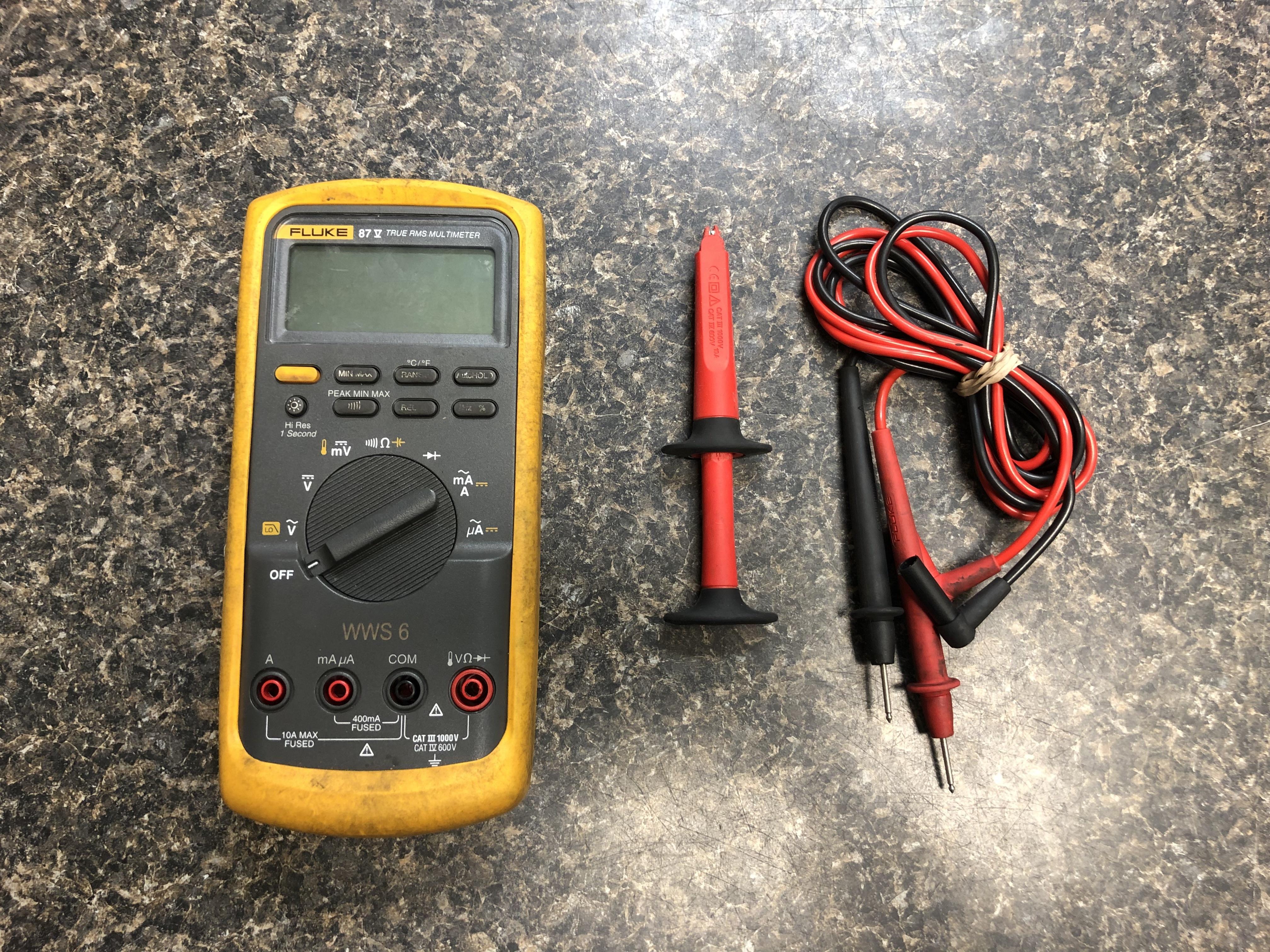 Fluke 87-5 Industrial Multi-meter