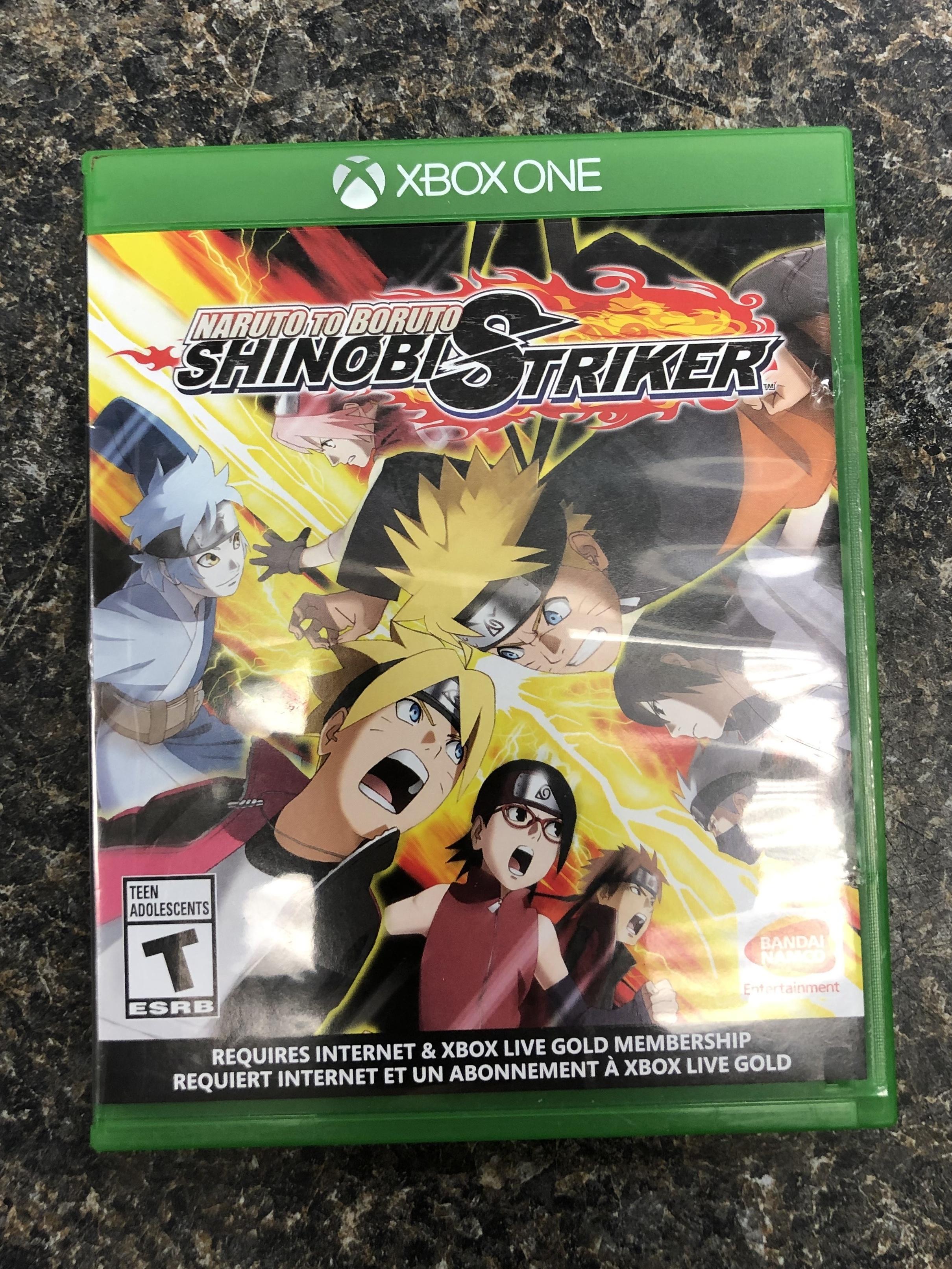 XBOX ONE GAME - NARUTO BORUTO SHINOBI STRIKER