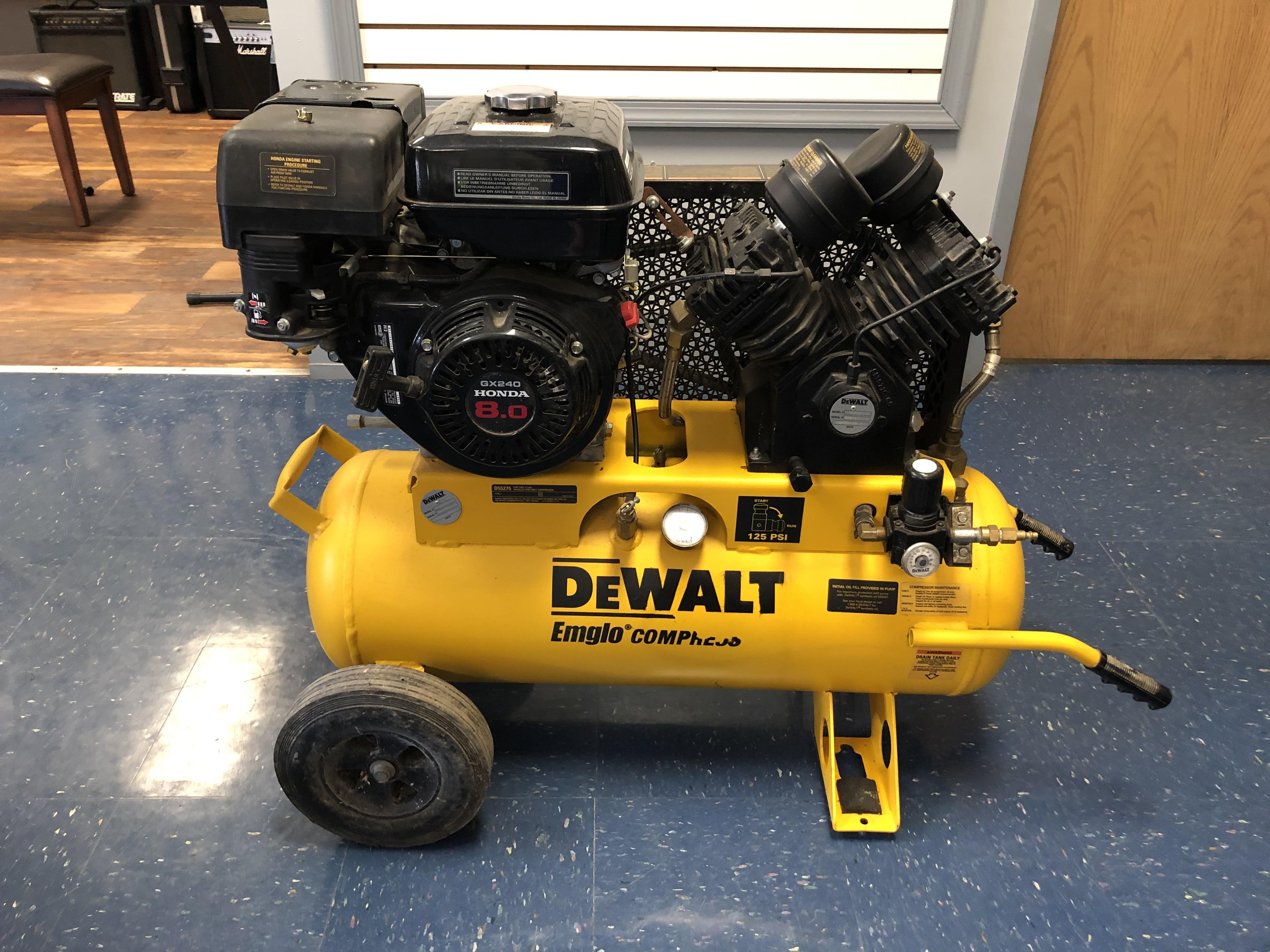 DEWALT D55275 AIR COMPRESSOR