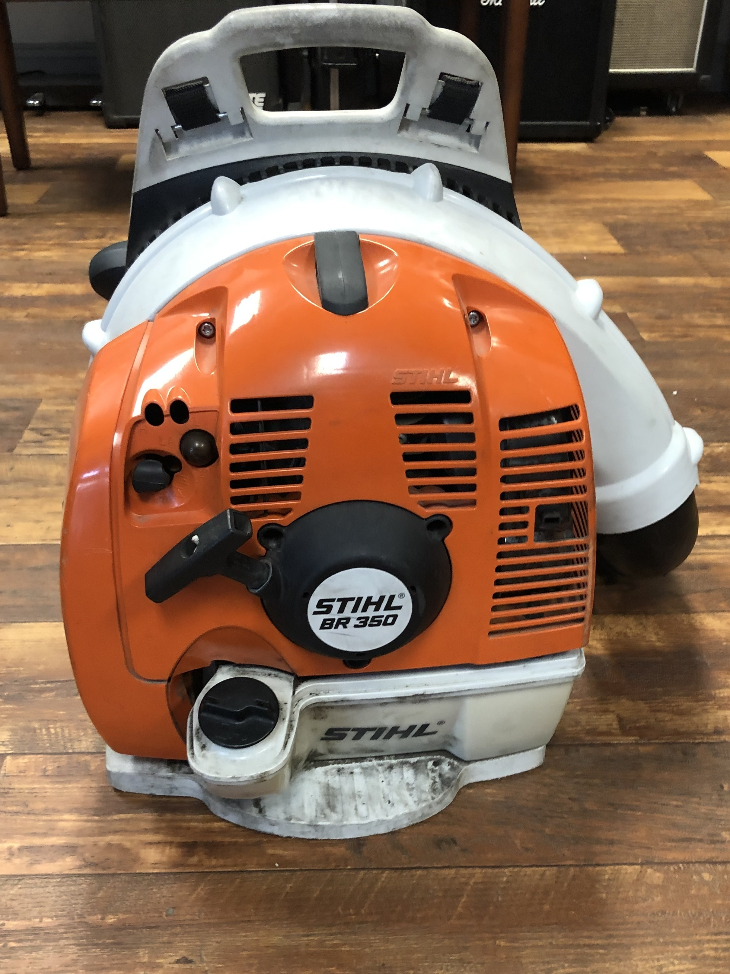 STIHL BR 350 BACKPACK BLOWER W/ EXTENDER - BR 350