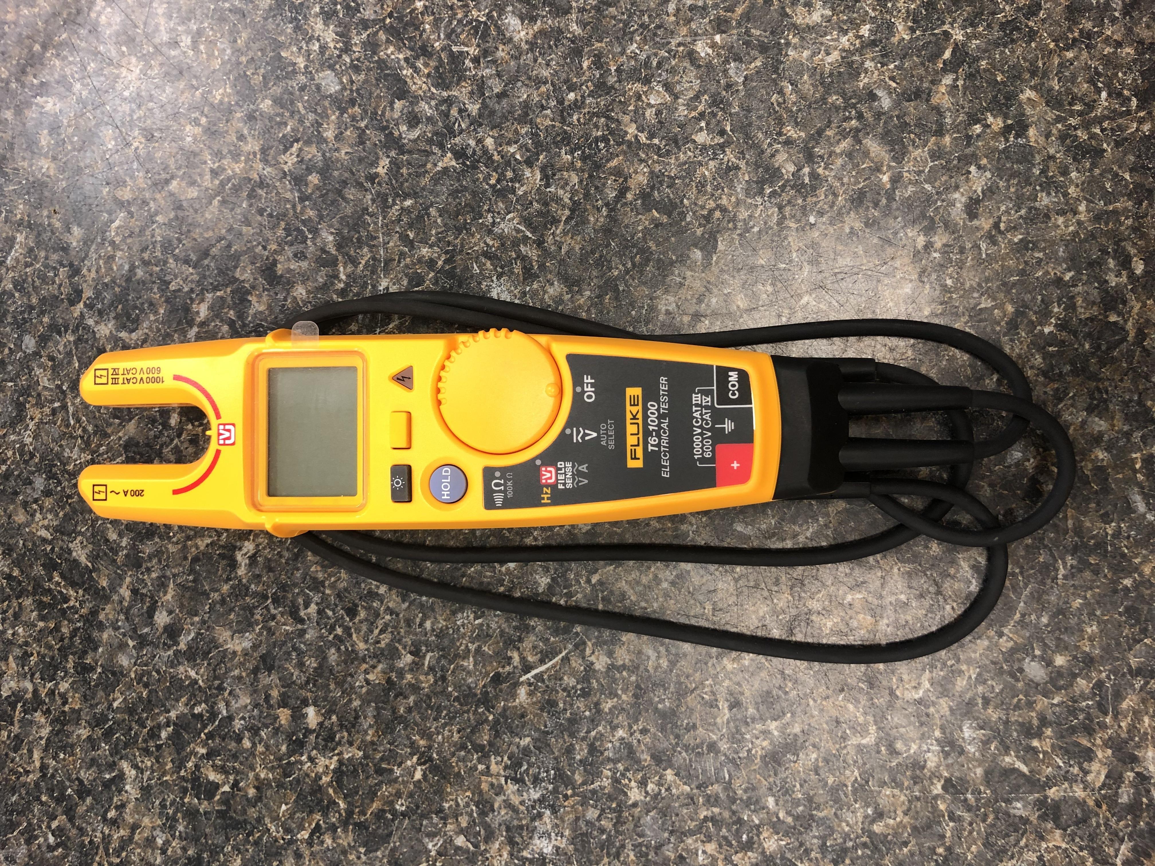 Fluke Electrical Tester w/ probes - T6-1000