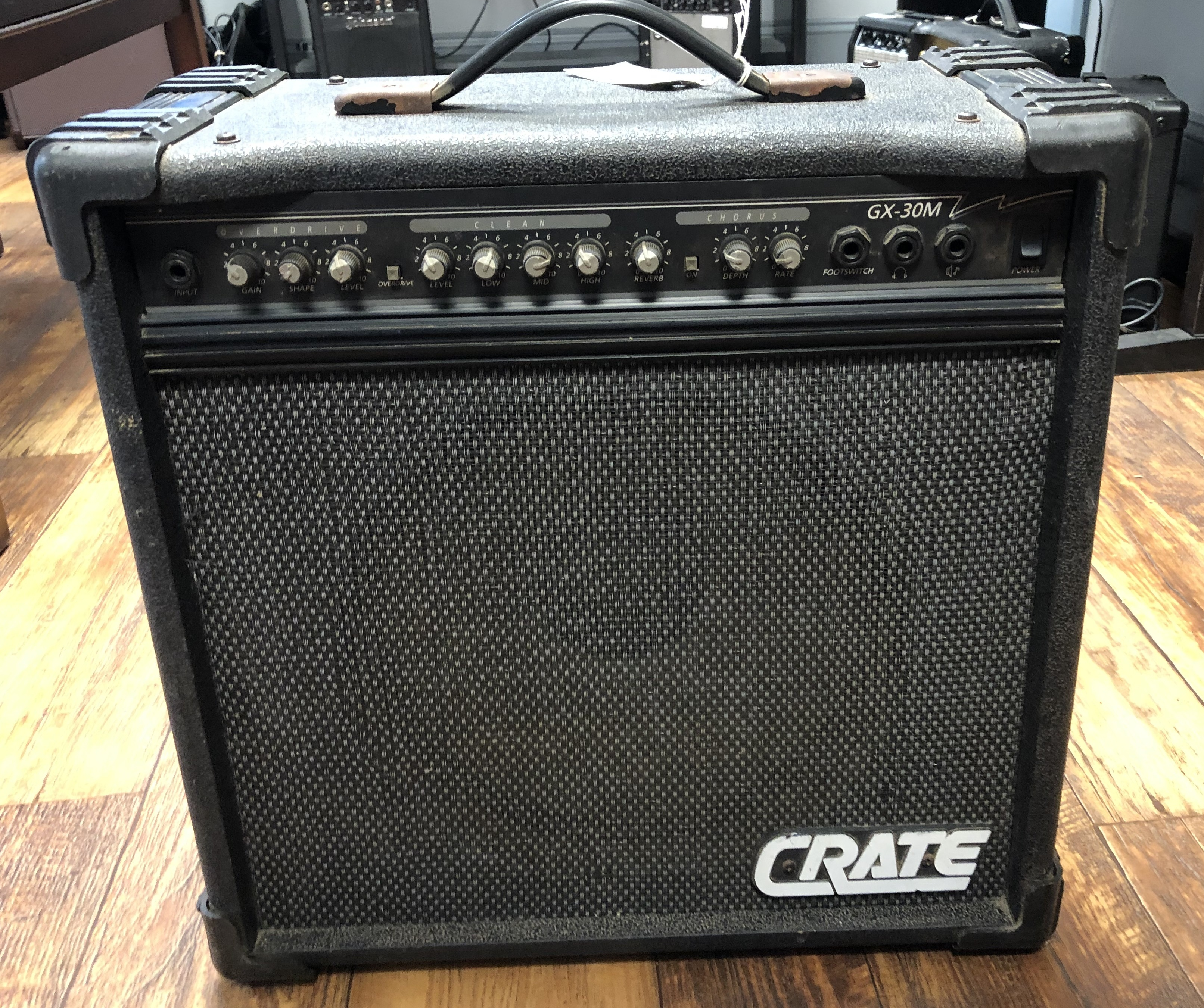 CRATE GX-30M AMP W/ CORD