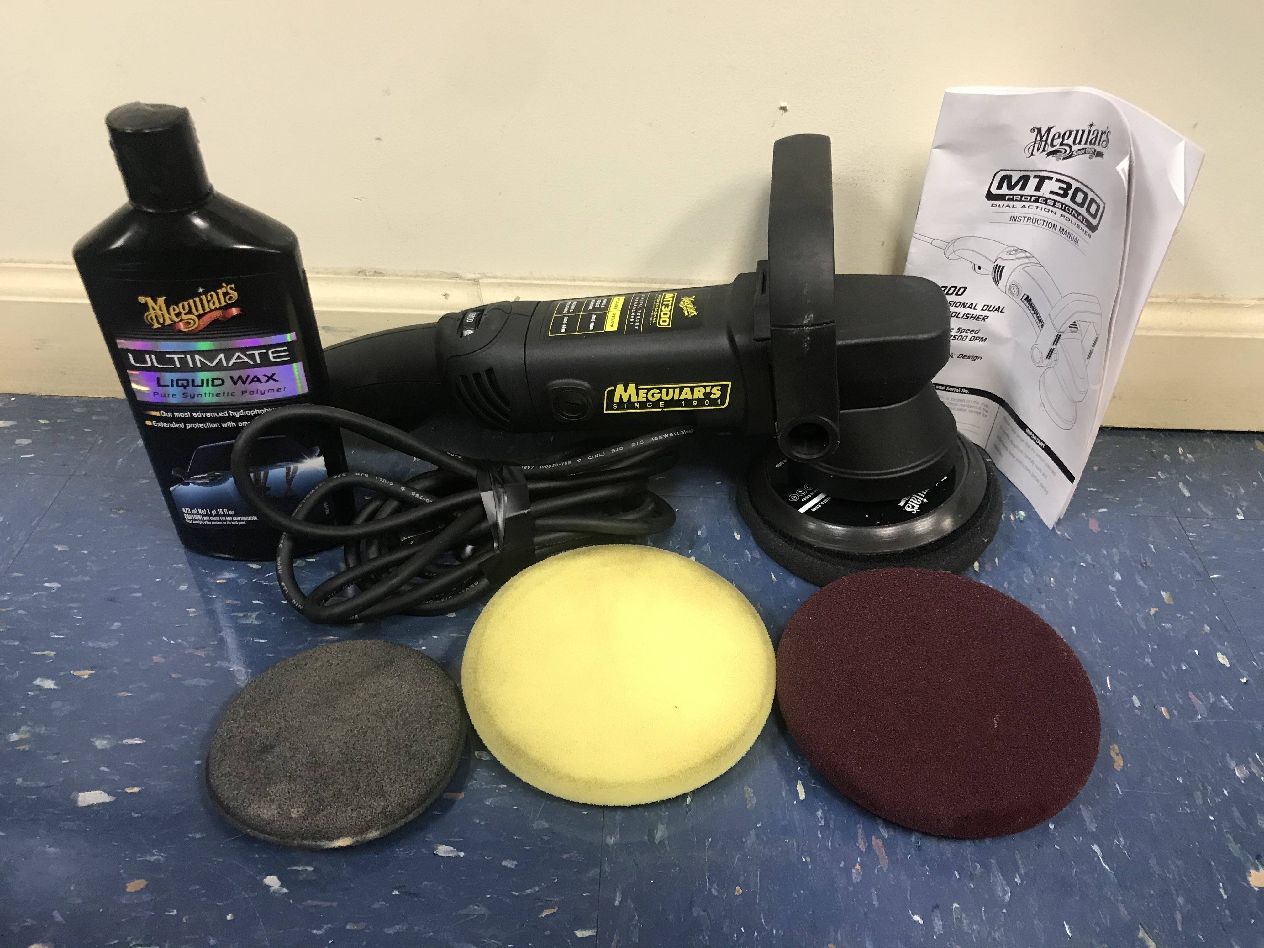 MEGUIARS POLISHER MODEL: MT300