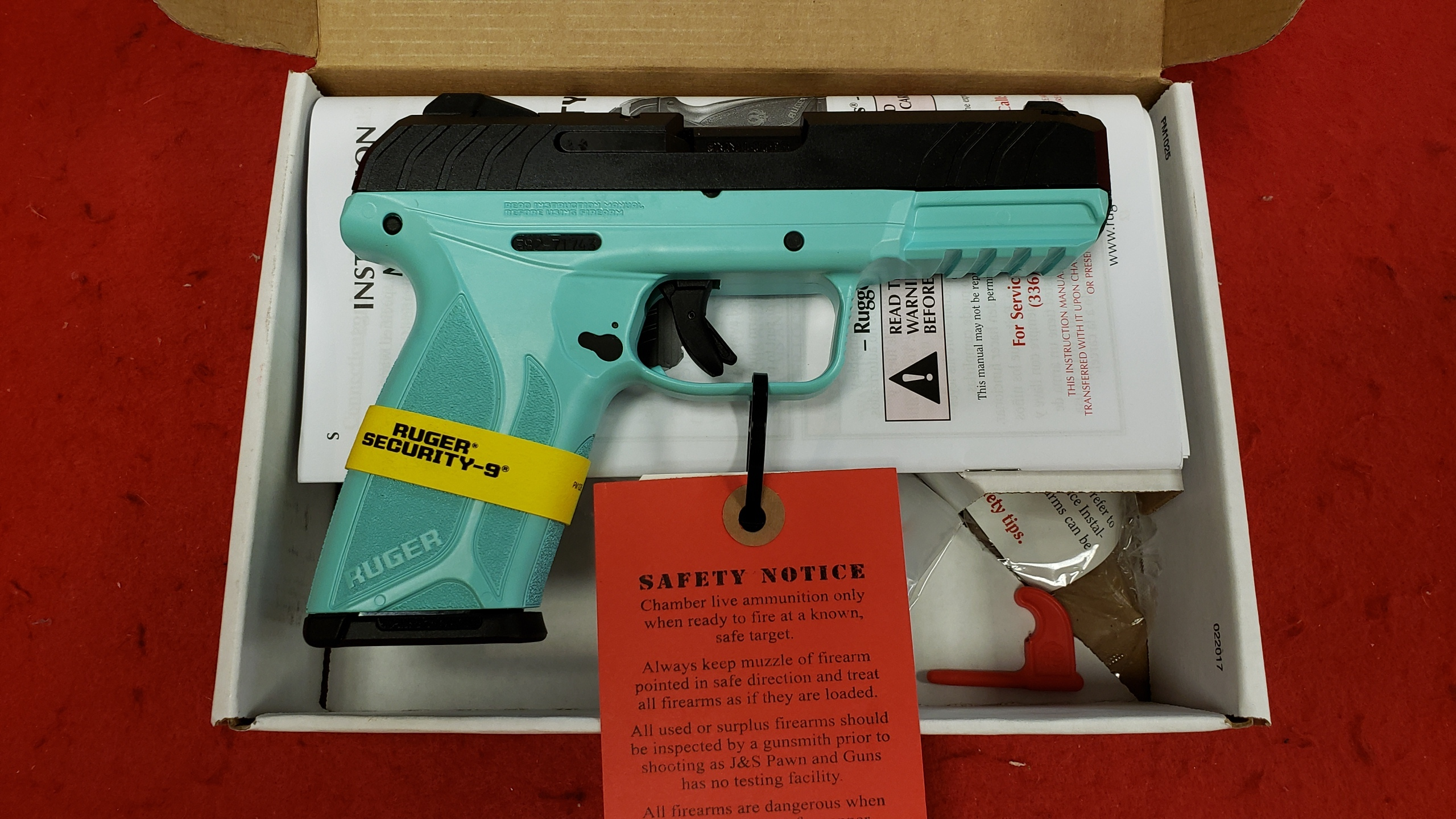 RUGER - SECURITY-9 - 9MM - PISTOL-img-0