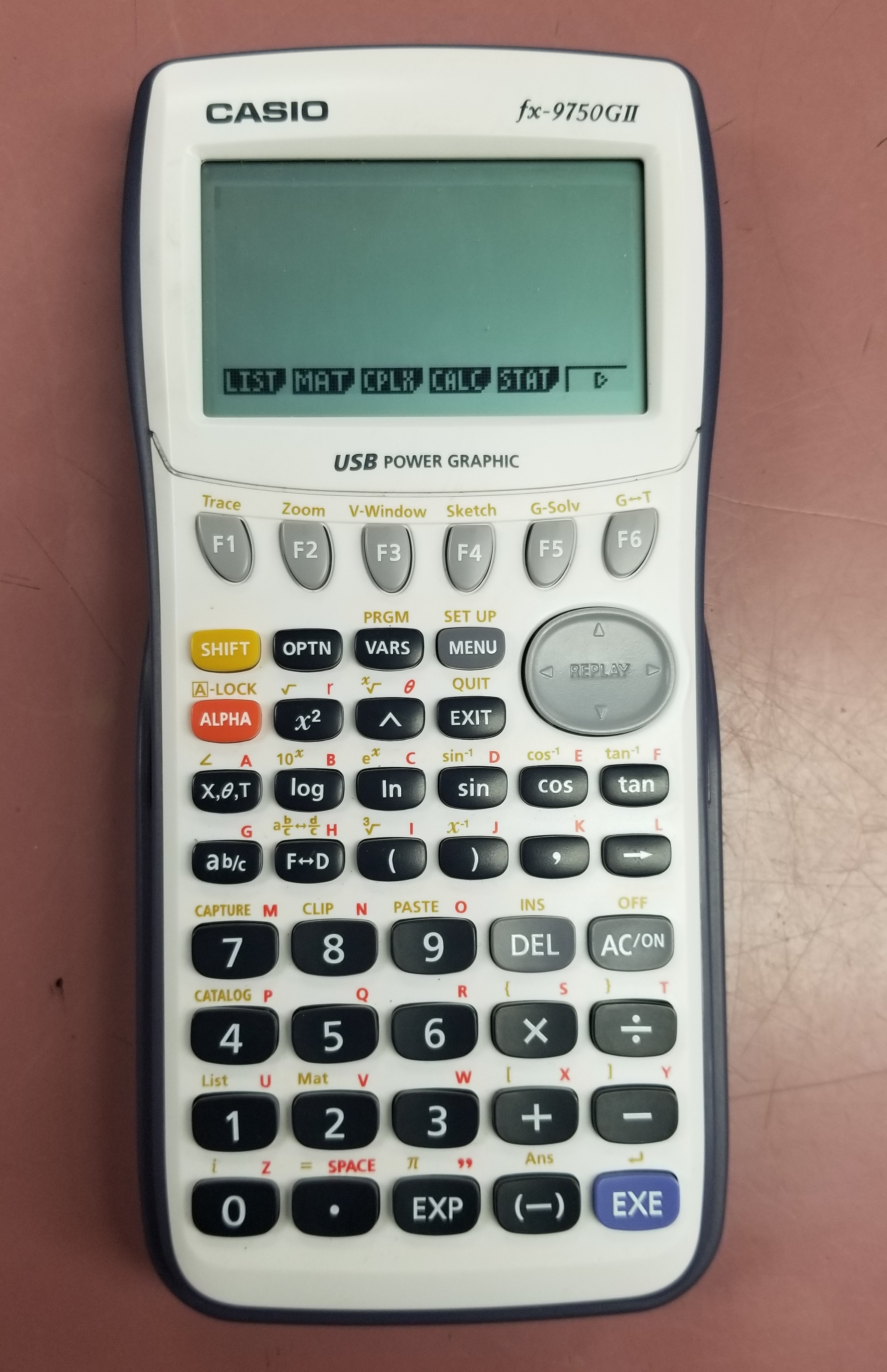 CASIO - FX-9750GII - CALCULATOR
