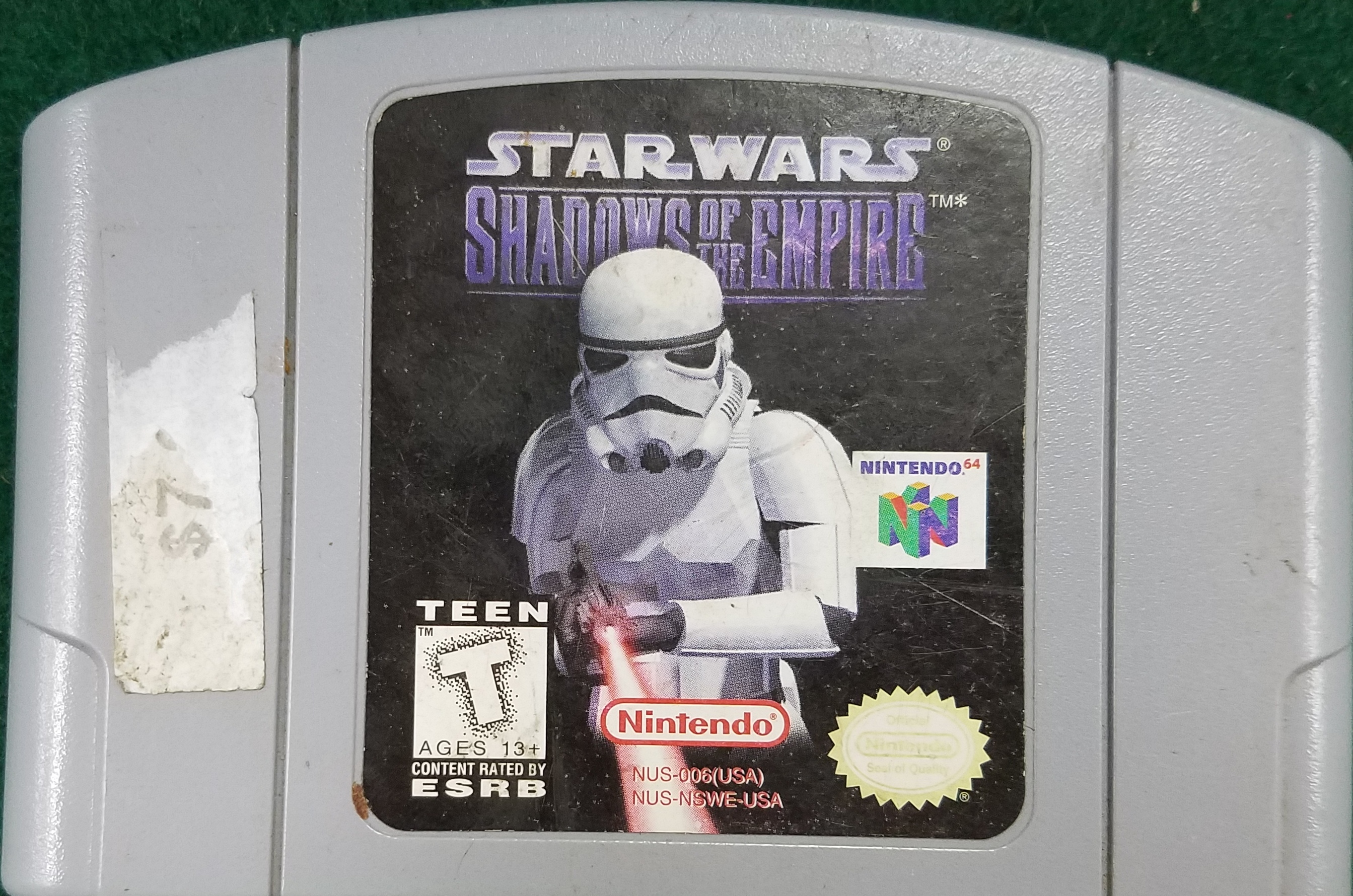 NINTENDO 64 STAR WARS GAME