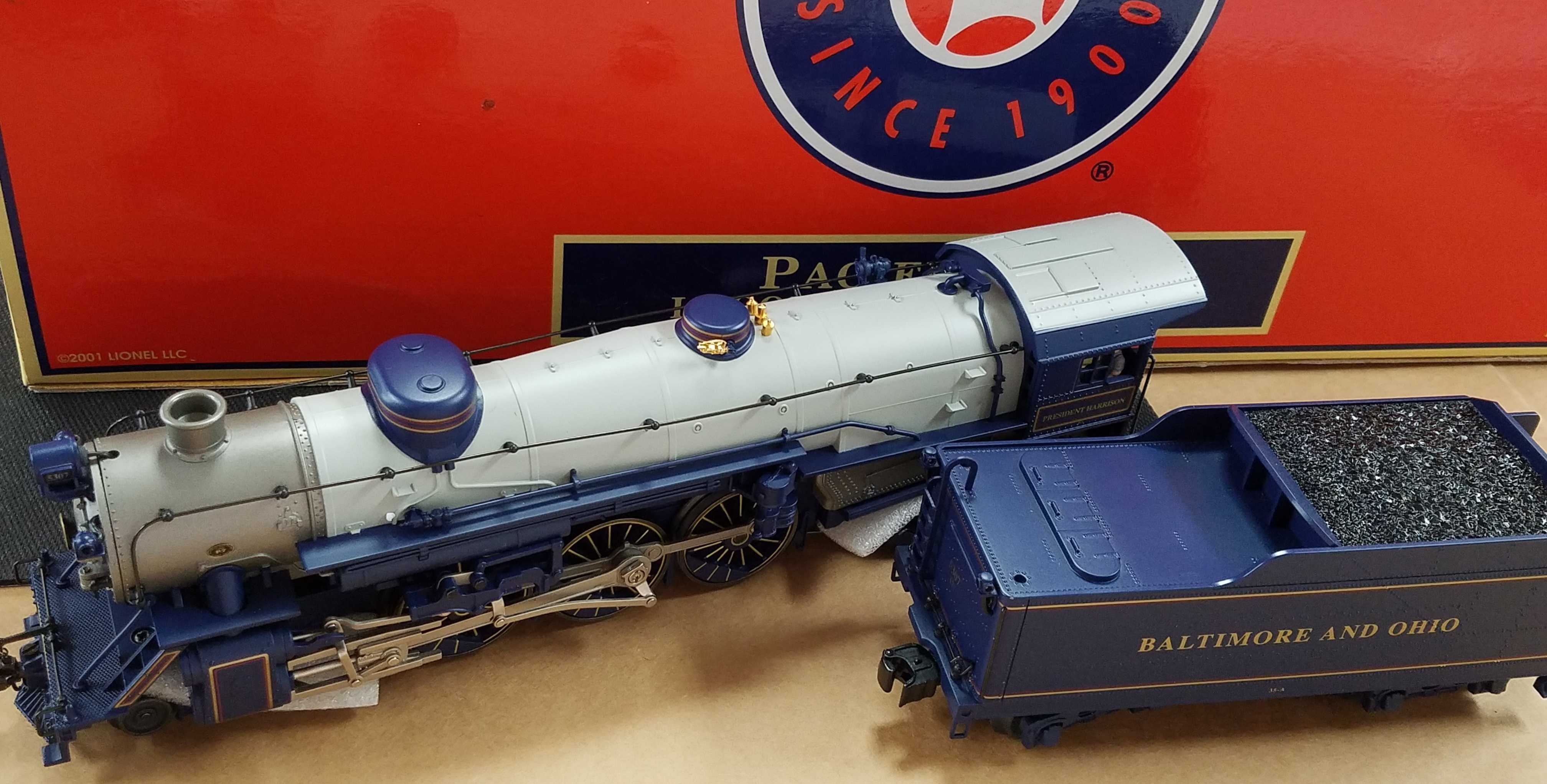 DYSSEY SYSTEM - 6-28066 -LOCOMOTIVE AND TENDER