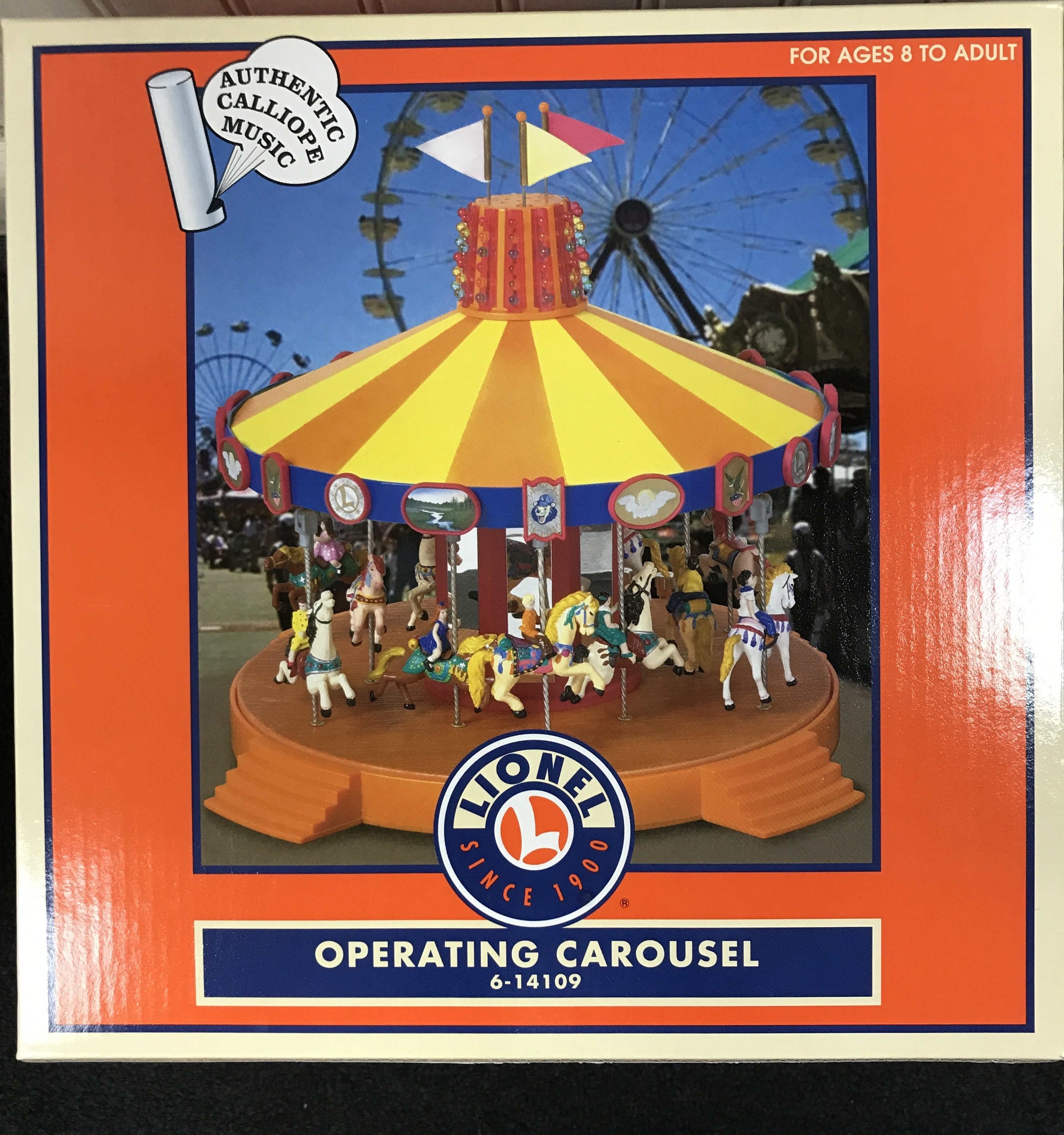 LIONEL  6-14109 Operating Carousel New In Box