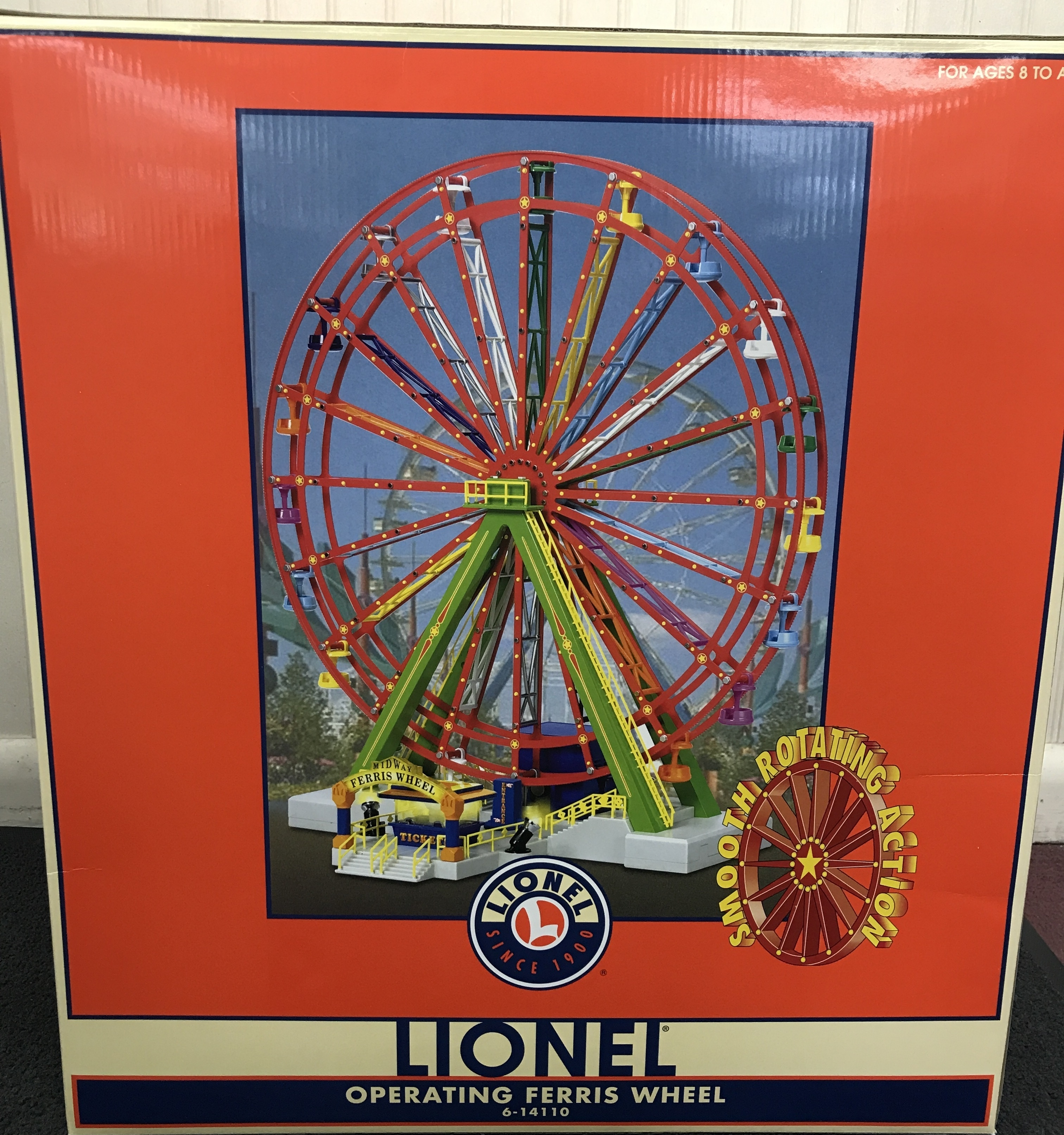 LIONEL  6-14110  Ferris Wheel New in Box