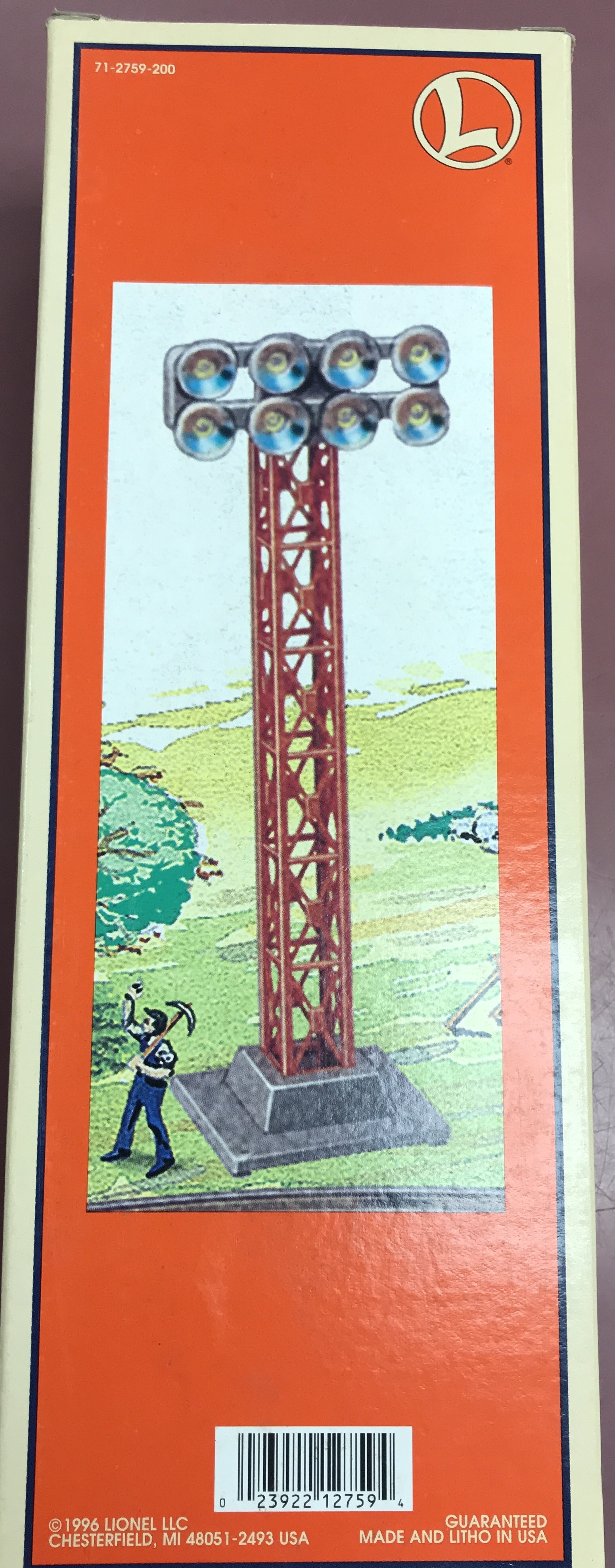 LIONEL  6-12759 Flood Light Tower