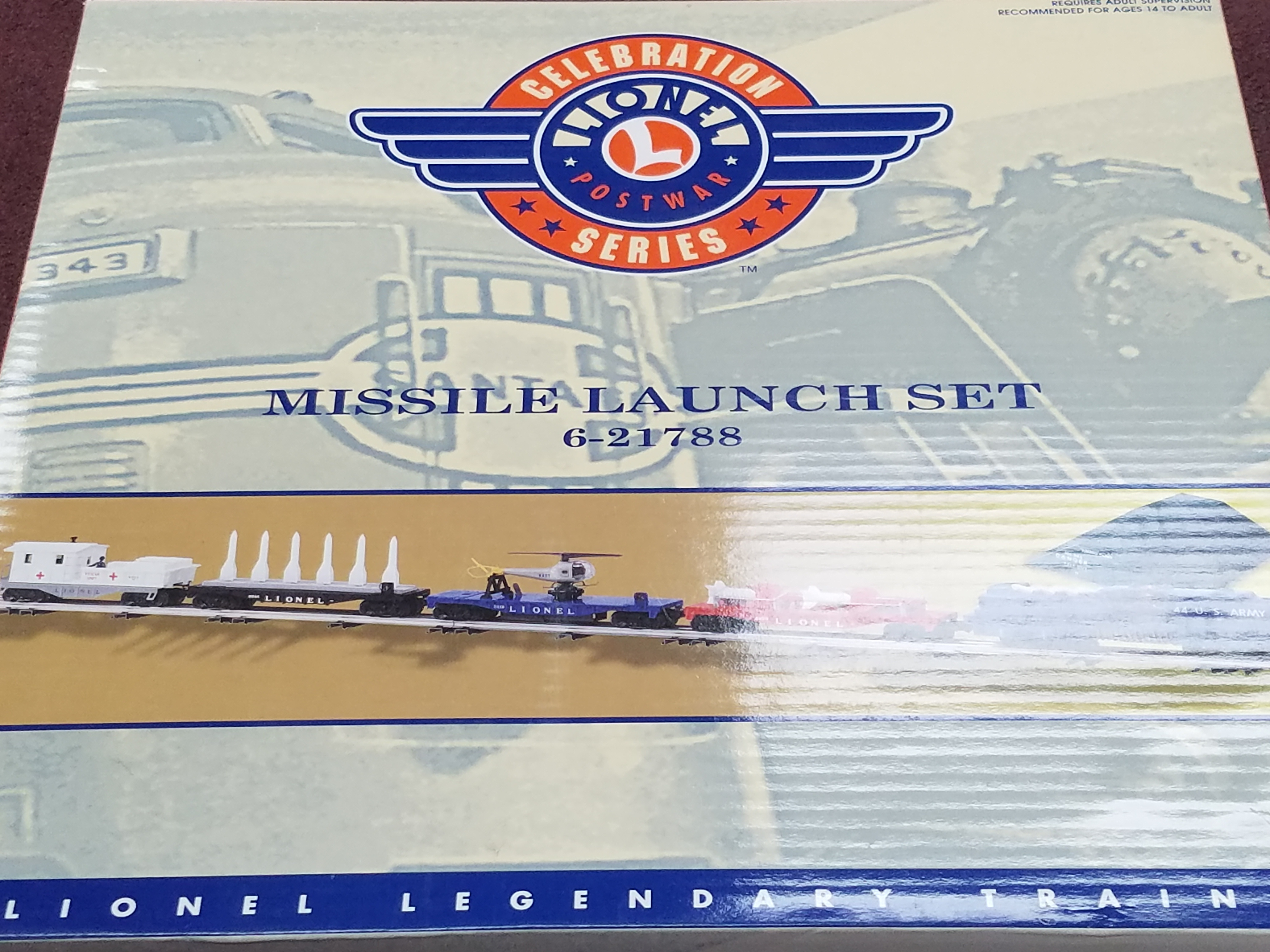 LIONEL - 6-21788 - CELEBRATION MISSILE LAUNCH SET