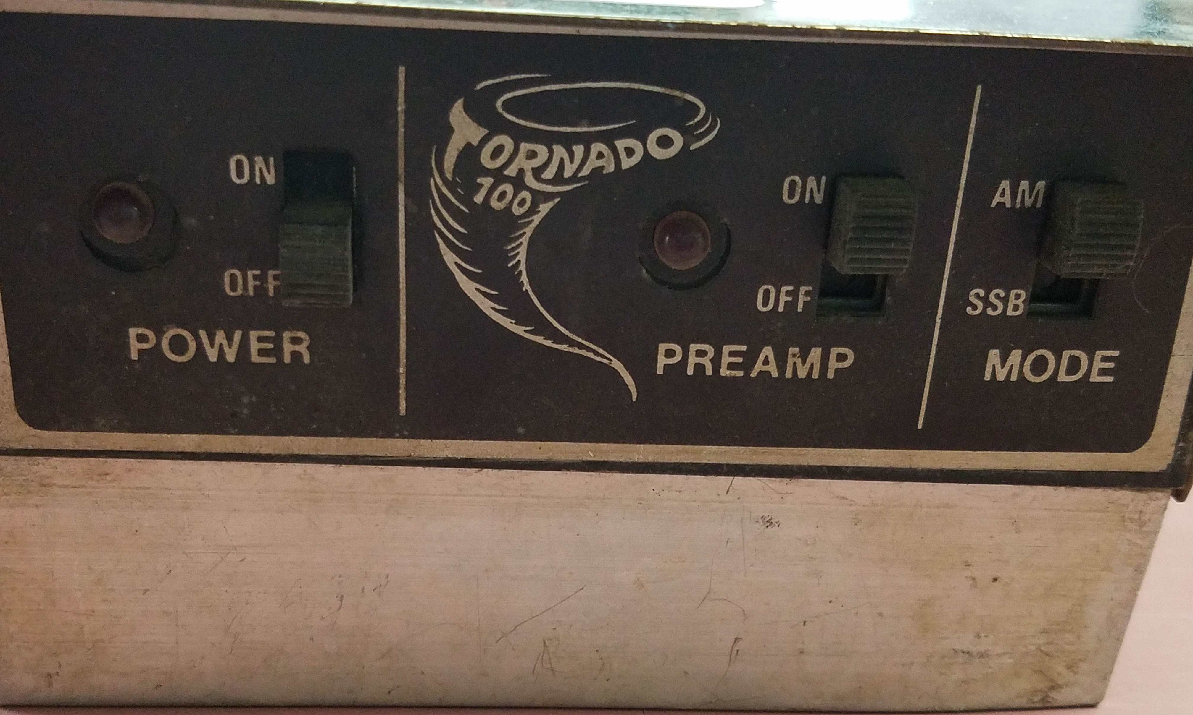 TALK ELECTRONICS - TORNADO 100  100WATT CB RADIO POWER AMP
