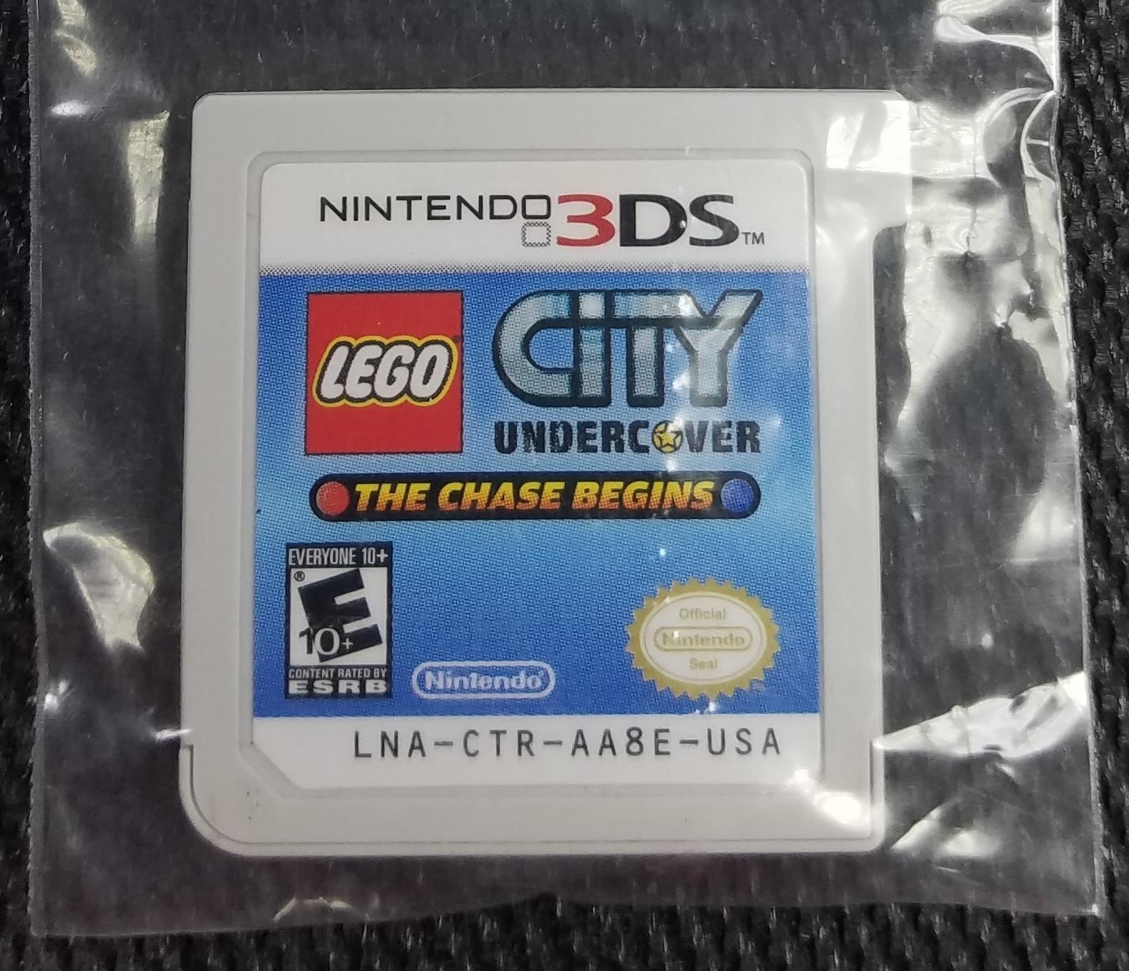NINTENDO 3DS LEGO CITY UNDERCOVER