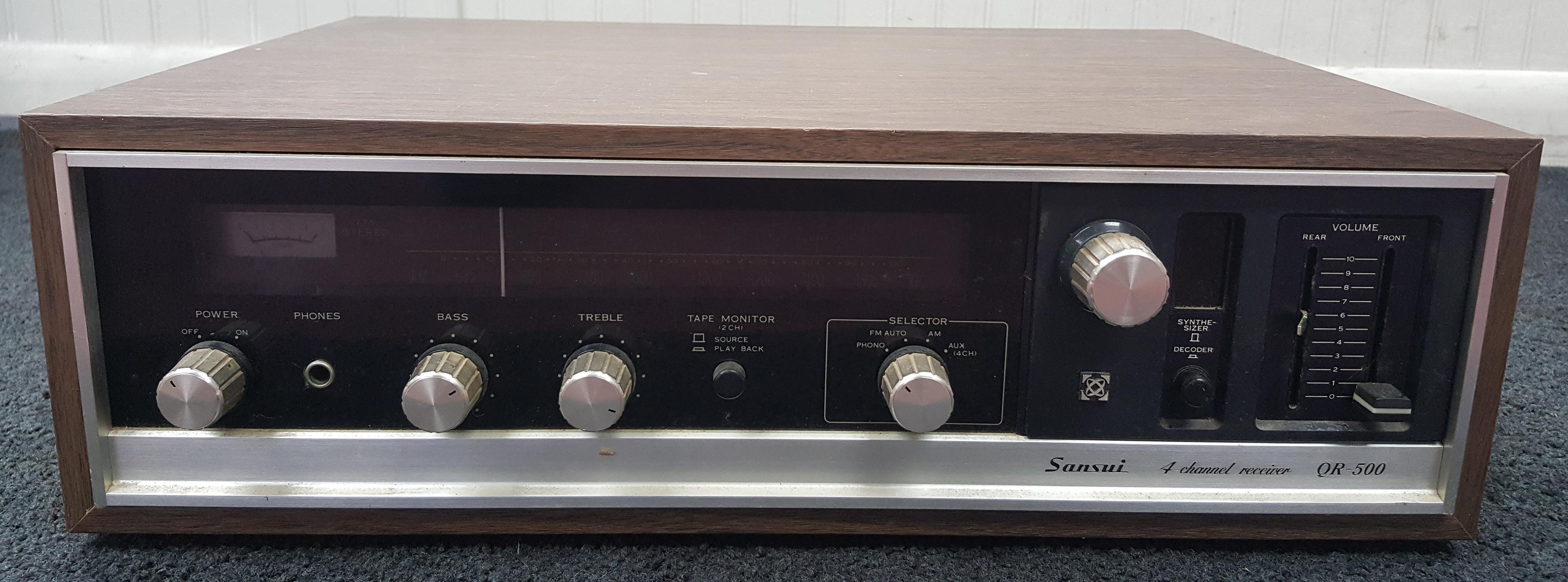 SANSUI QR-500 RECEIVER