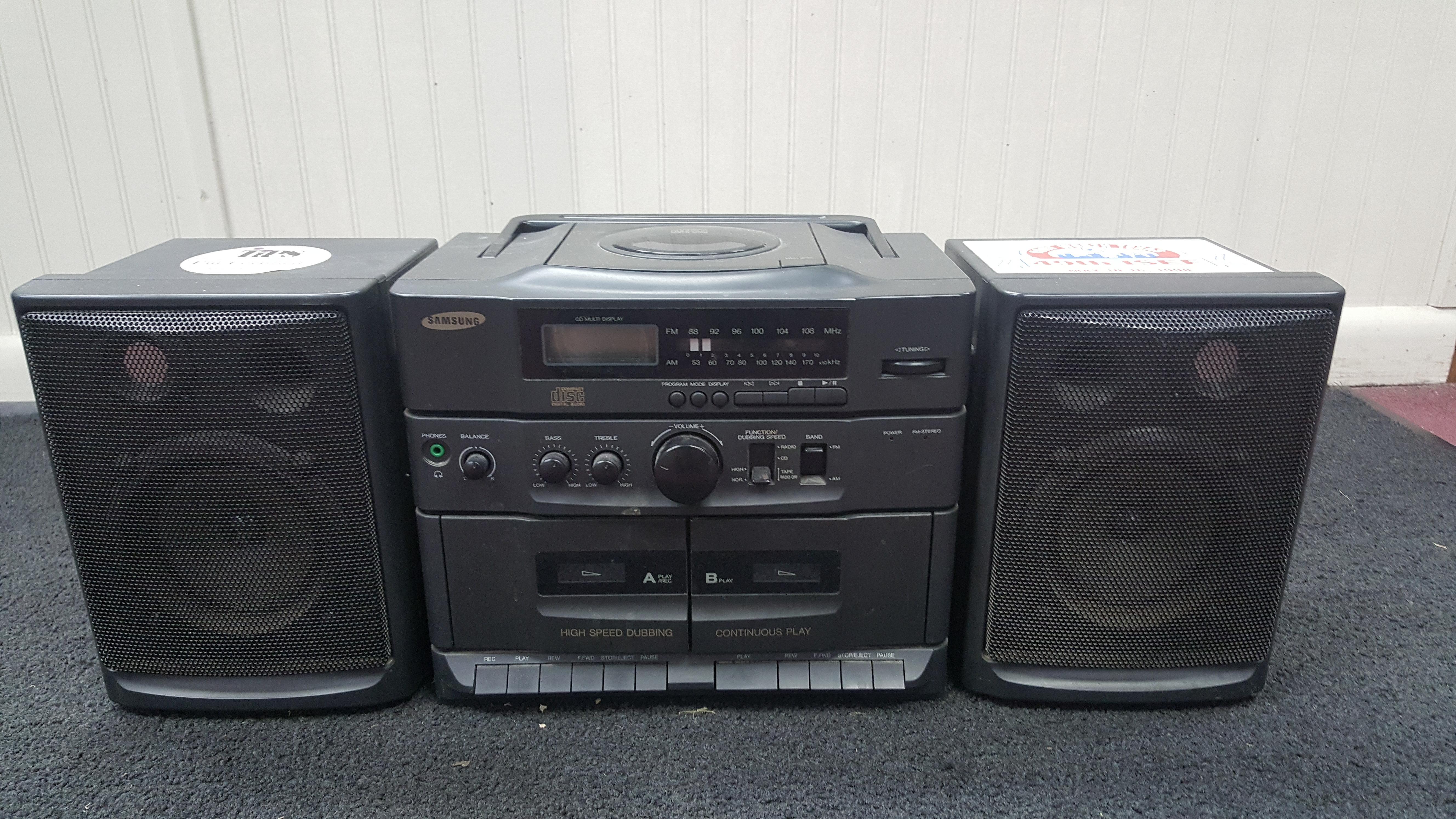 SAMSUNG PCD-720 N RADIO