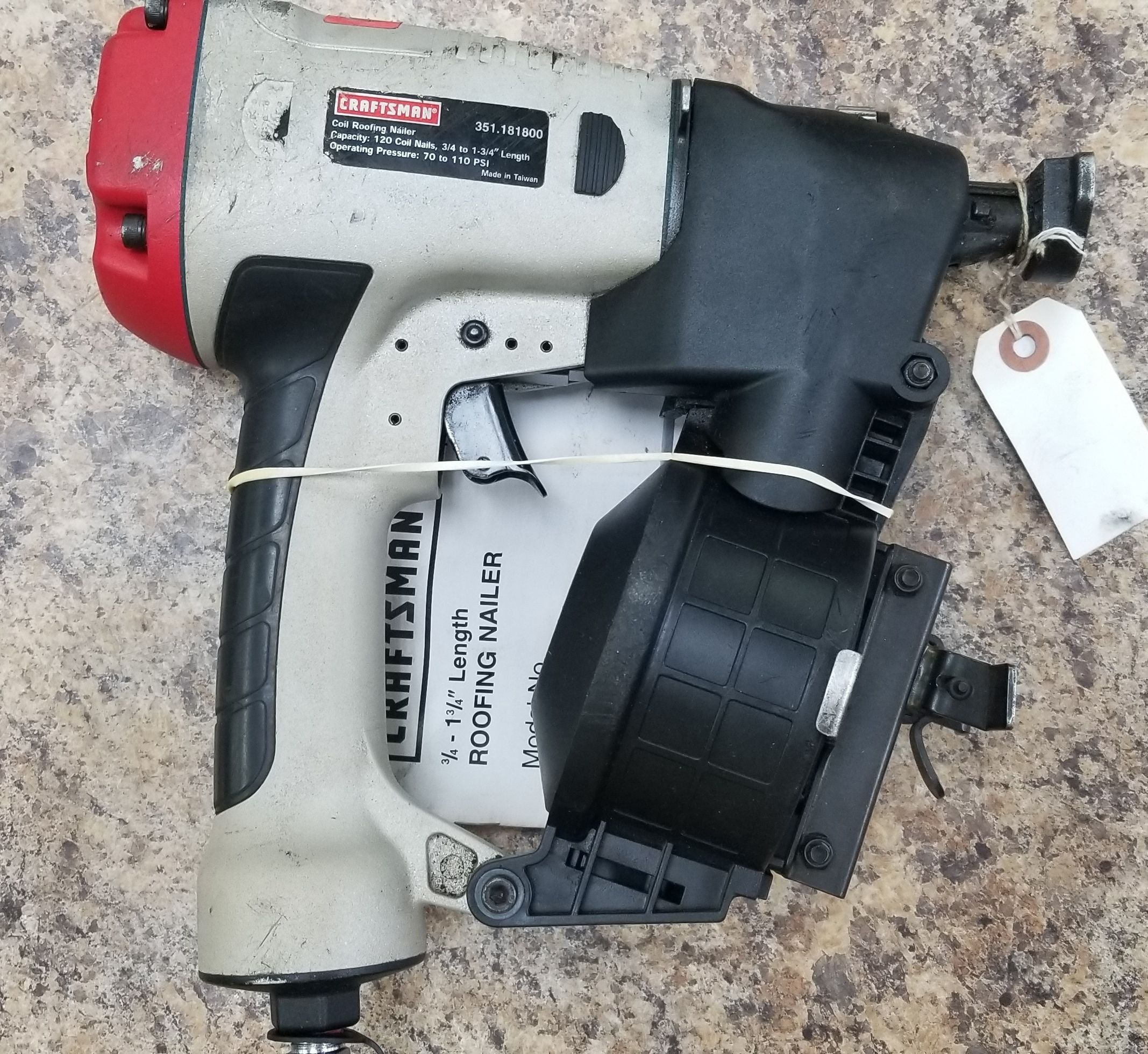 CRAFTSMAN - 351.181800 - NAILGUN TOOLS