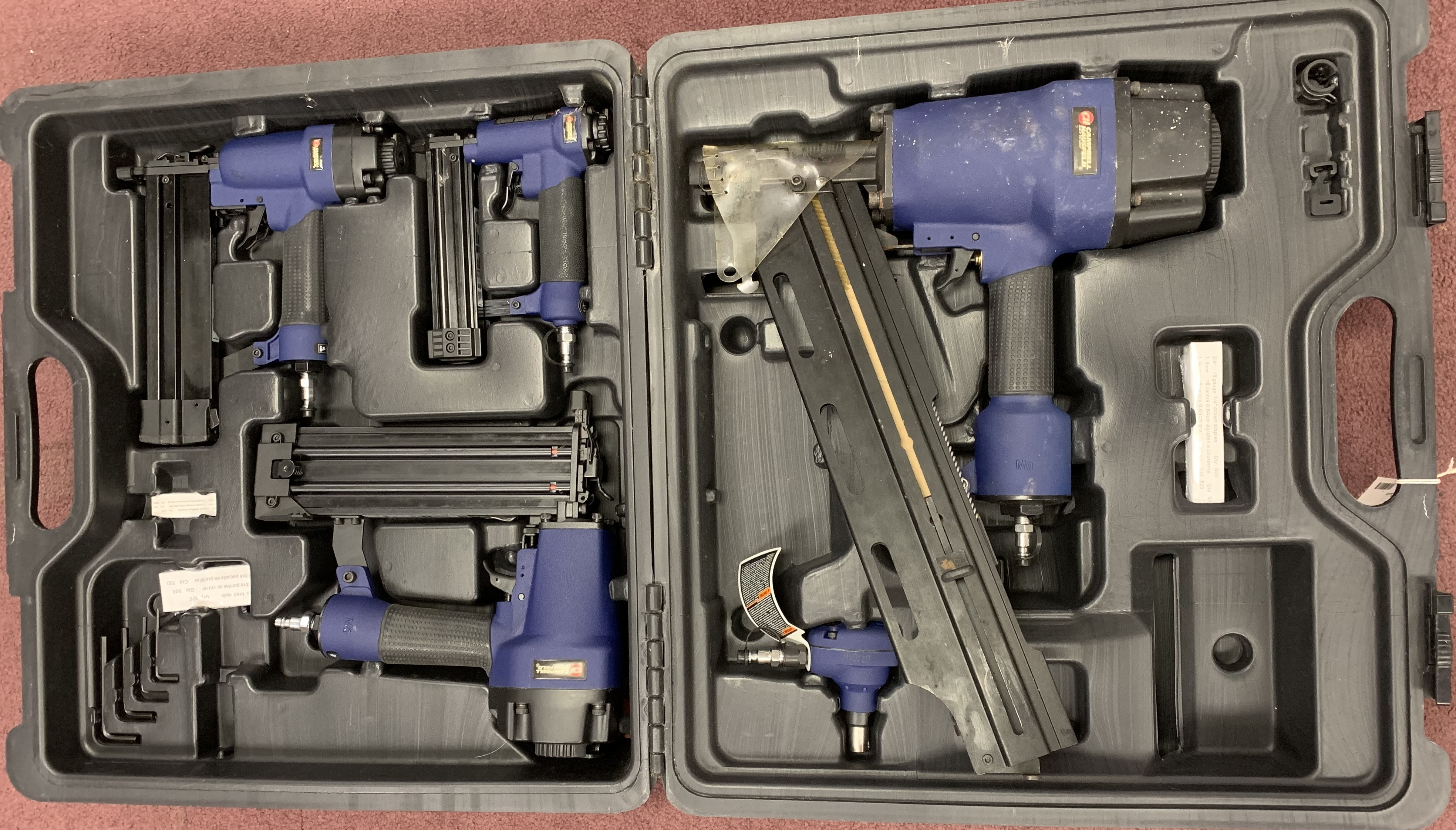 CAMPBELL HAUSFELD NS219500 AIR NAILERS