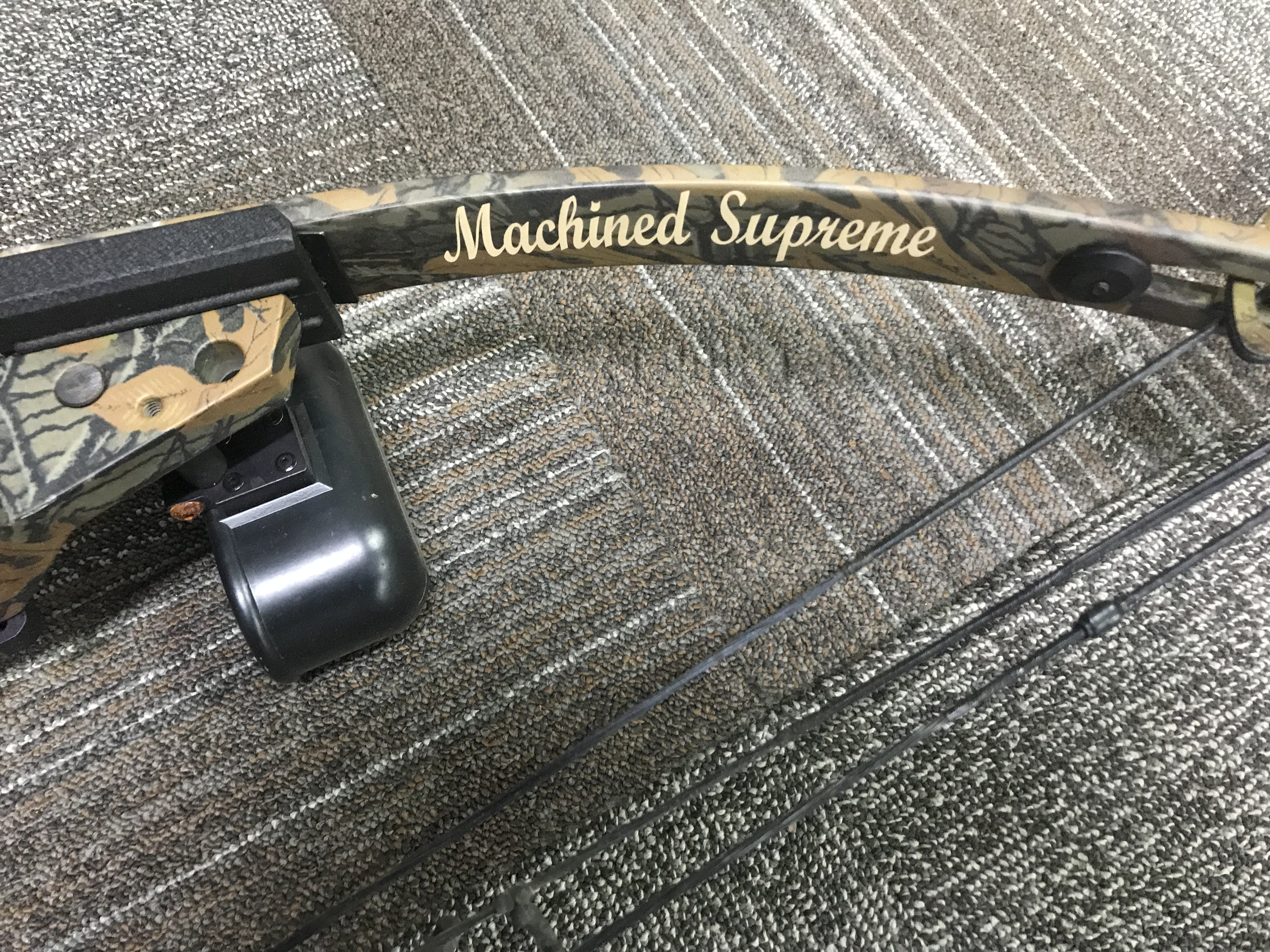 HIGH COUNTRY MACHINED SUPREME  29 DL, 70 DW, INCLUDES CASE