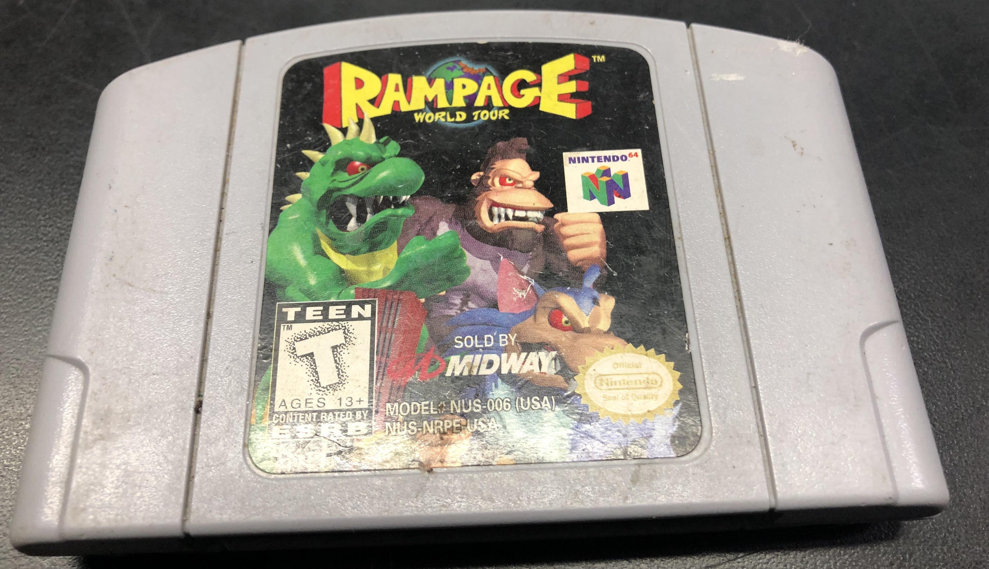 RAMPAGE WORLD TOUR  N64