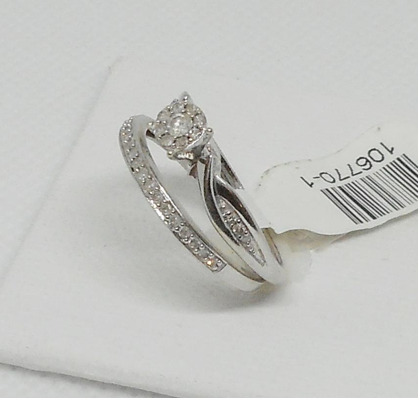 DIAMOND WEDDING SET (2 PC)