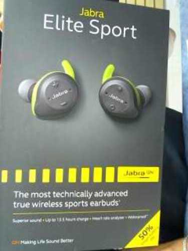 JABRA - ELITE SPORT - IN EAR HEADPHONES