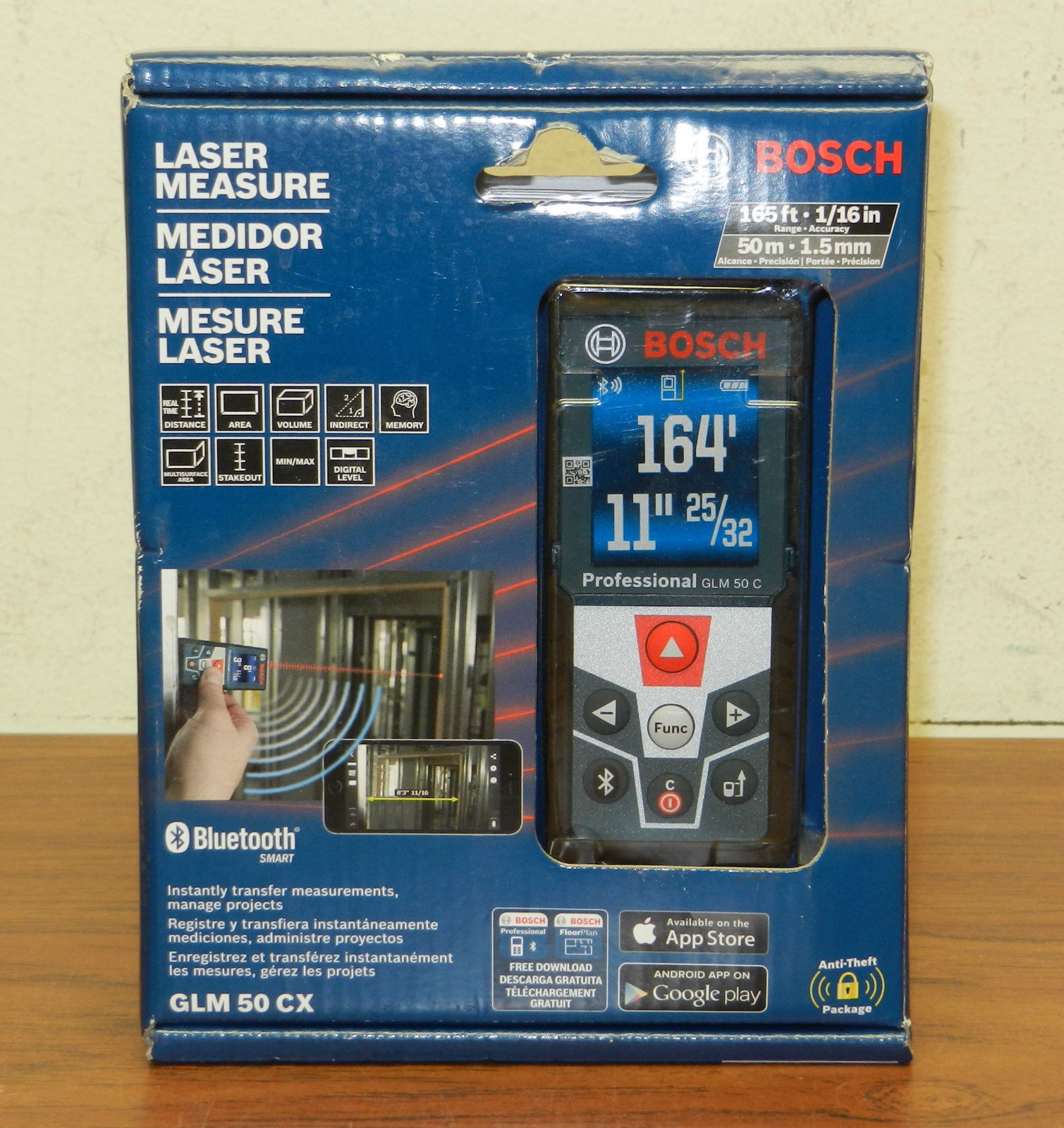 BOSCH - GLM50 CX - LASER LEVEL