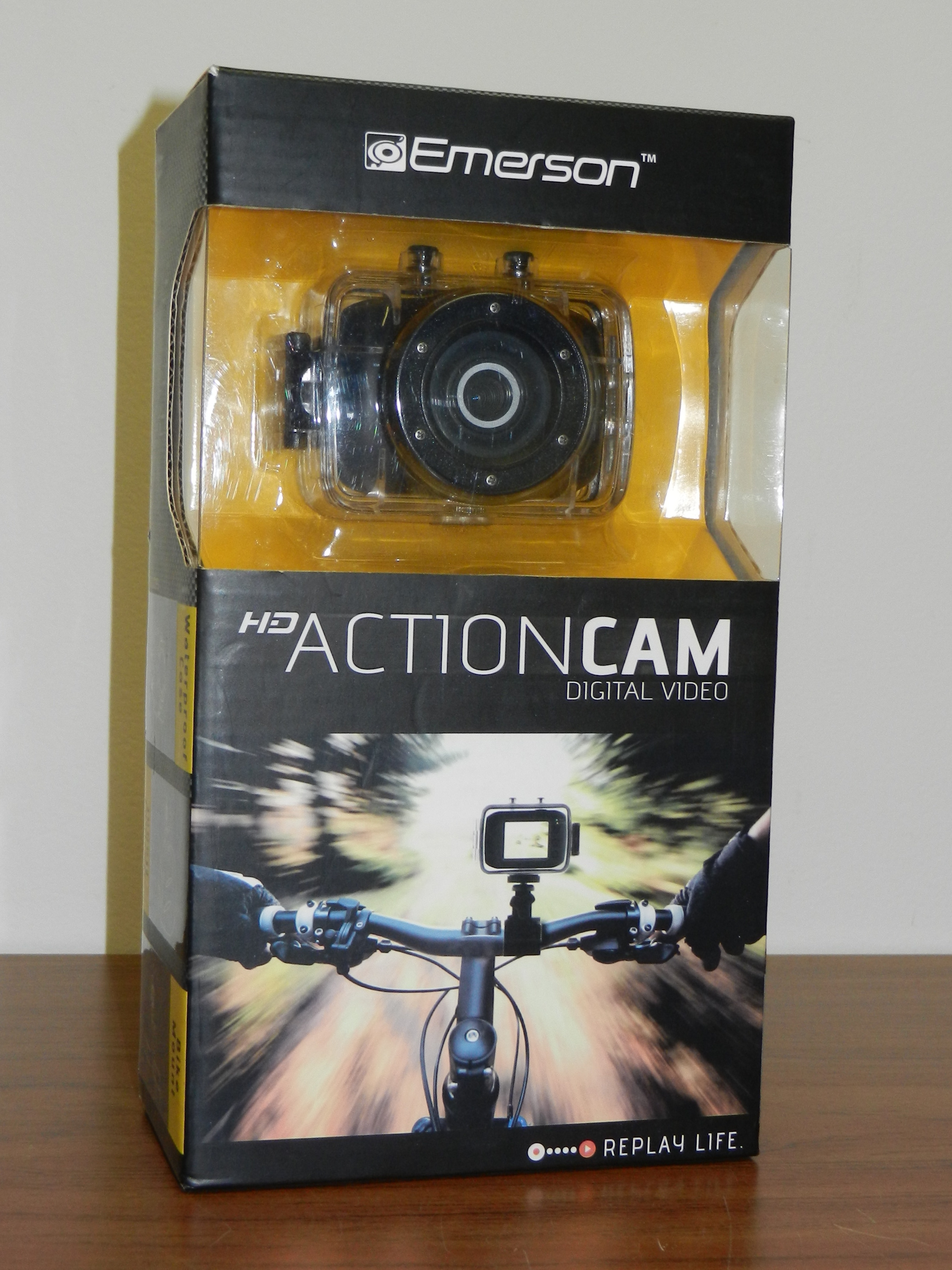 EMERSON - EVC355WG - HD ACTIONCAM
