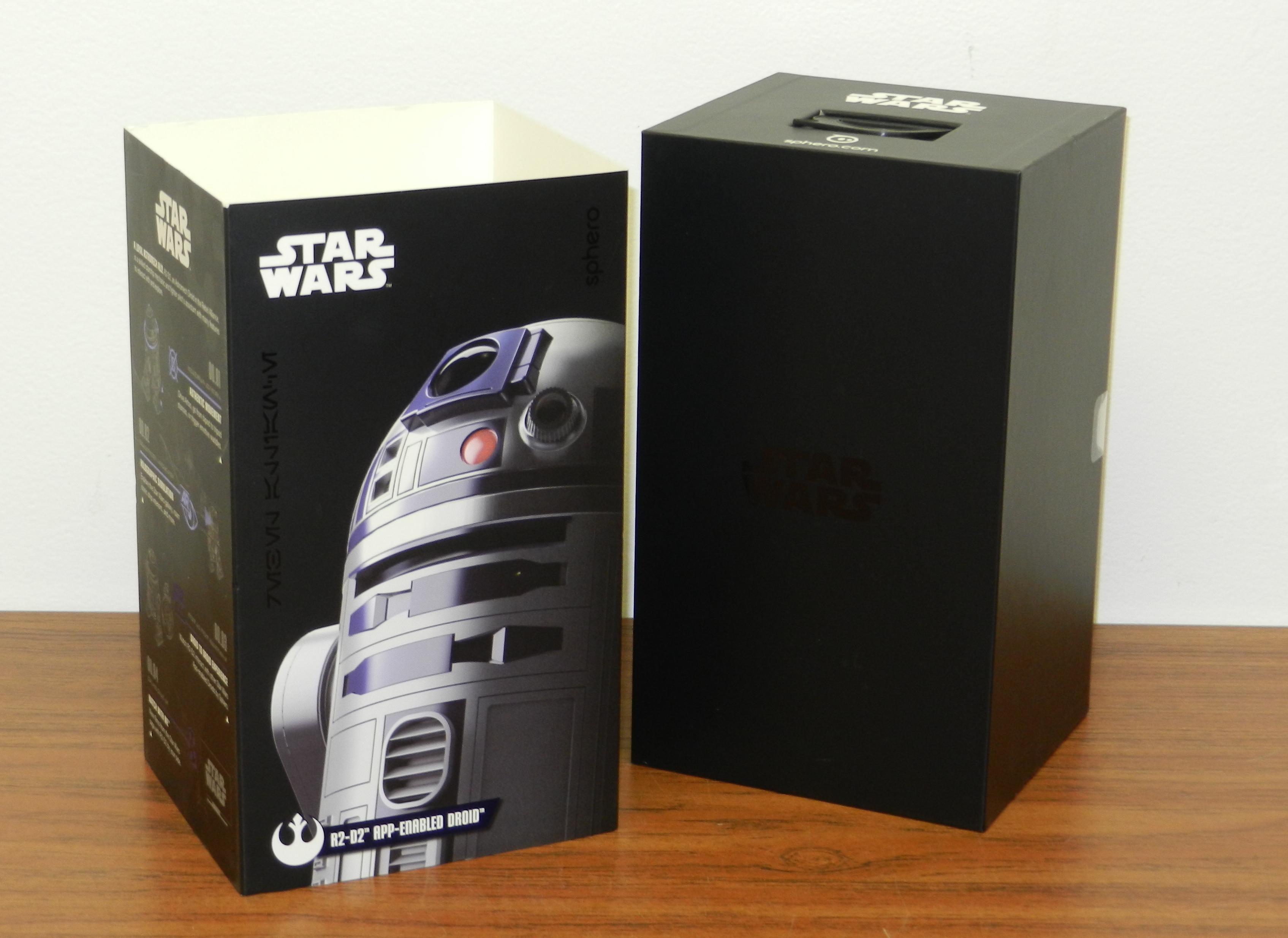 R2-D2 Droid App Enabled SPHERO STAR WARS R201-ROW-20170824