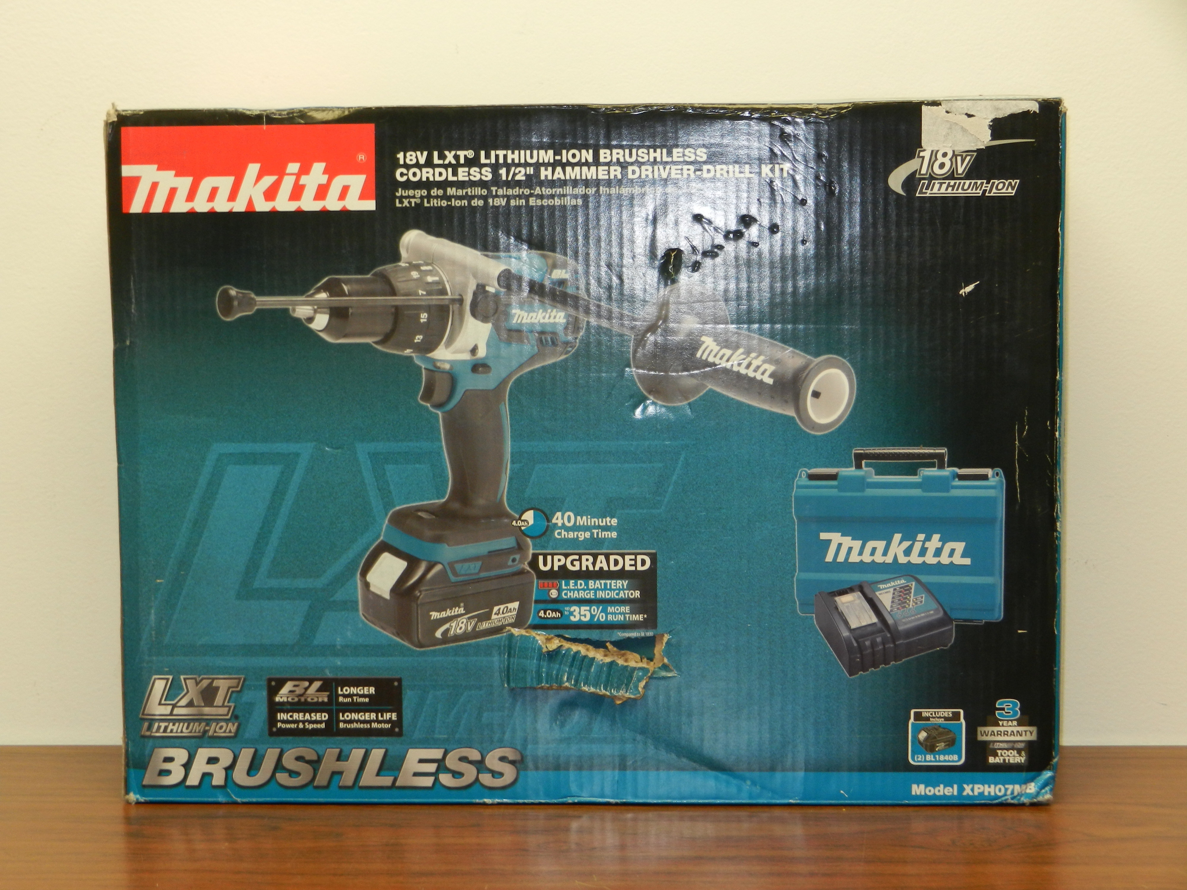 NEW Makita XPH07MB 18V LXT LithiumIon Brushless Cordless1/2