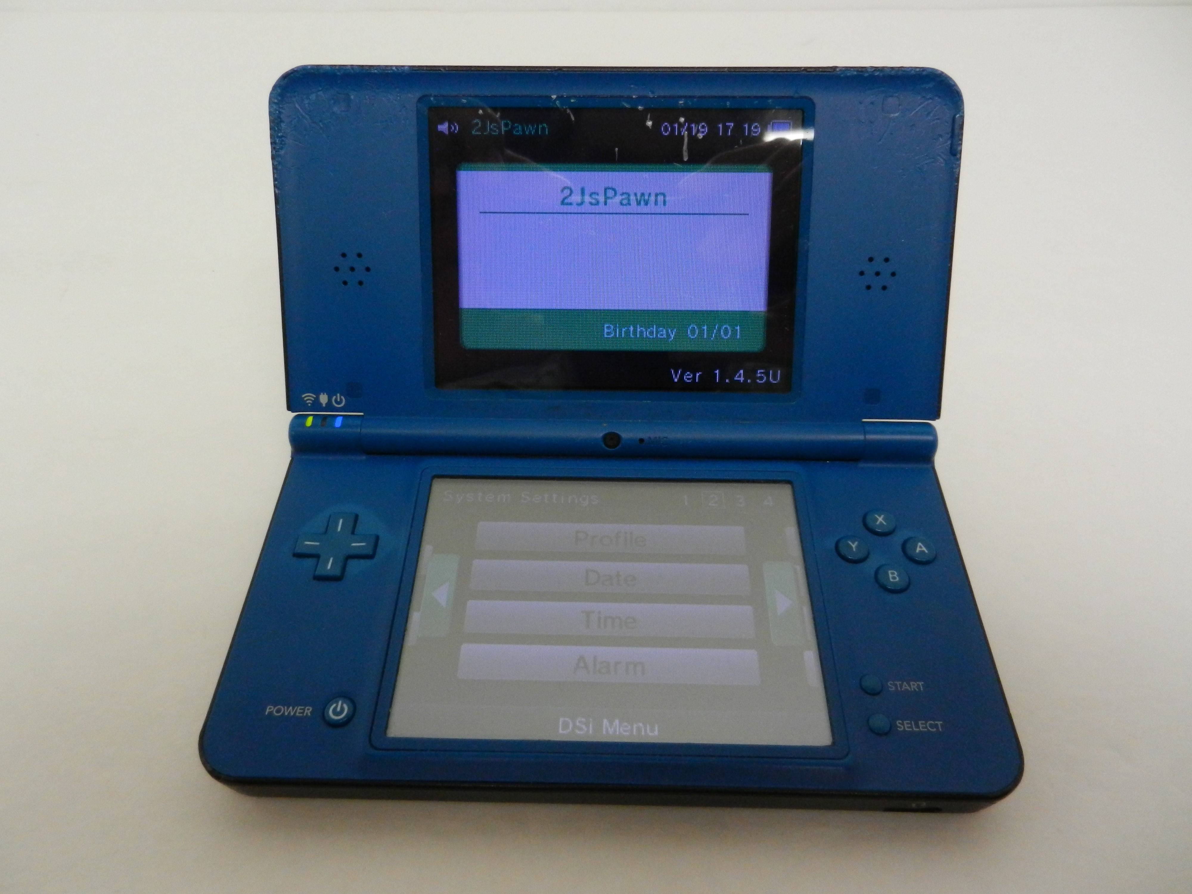 Nintendo DSi XL, Midnight Blue, Handheld System *** PARTS / REPAIR > D-PAD Issue