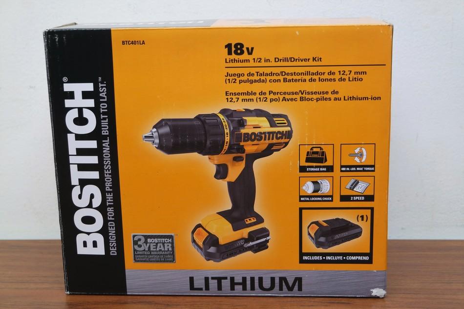 Bostitch BTC401LA 18V Lithium 1/2