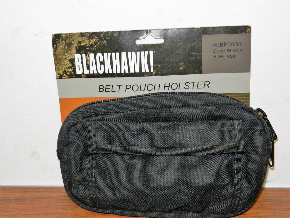 BLACKHAWK! NYLON MINI BELT POUCH HOLSTER AMBIDEXTROUS SMALL POCKET / SUBCOMPACTS