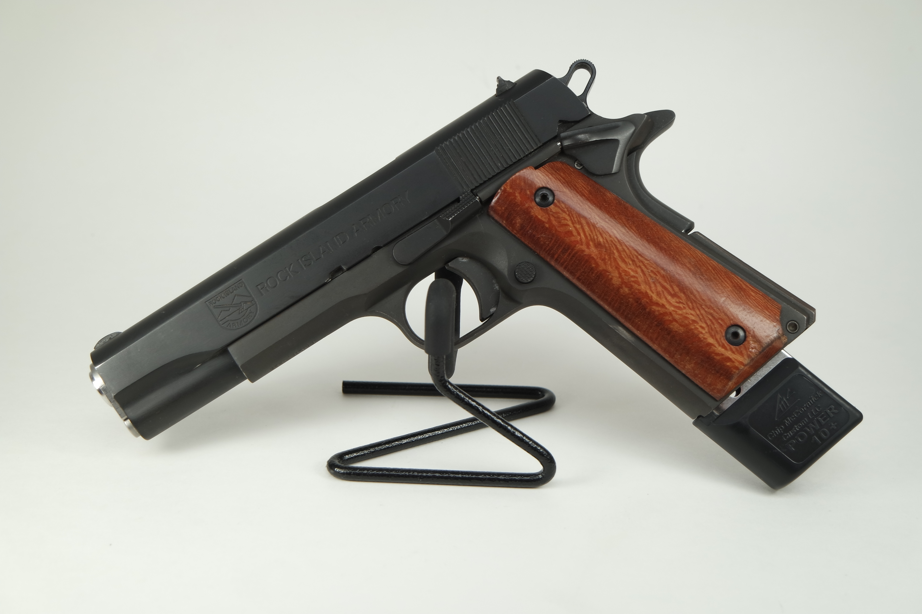 Rock Island Armory 1911 in 45ACP ED Brown barrel Extended Mag Pre-owned