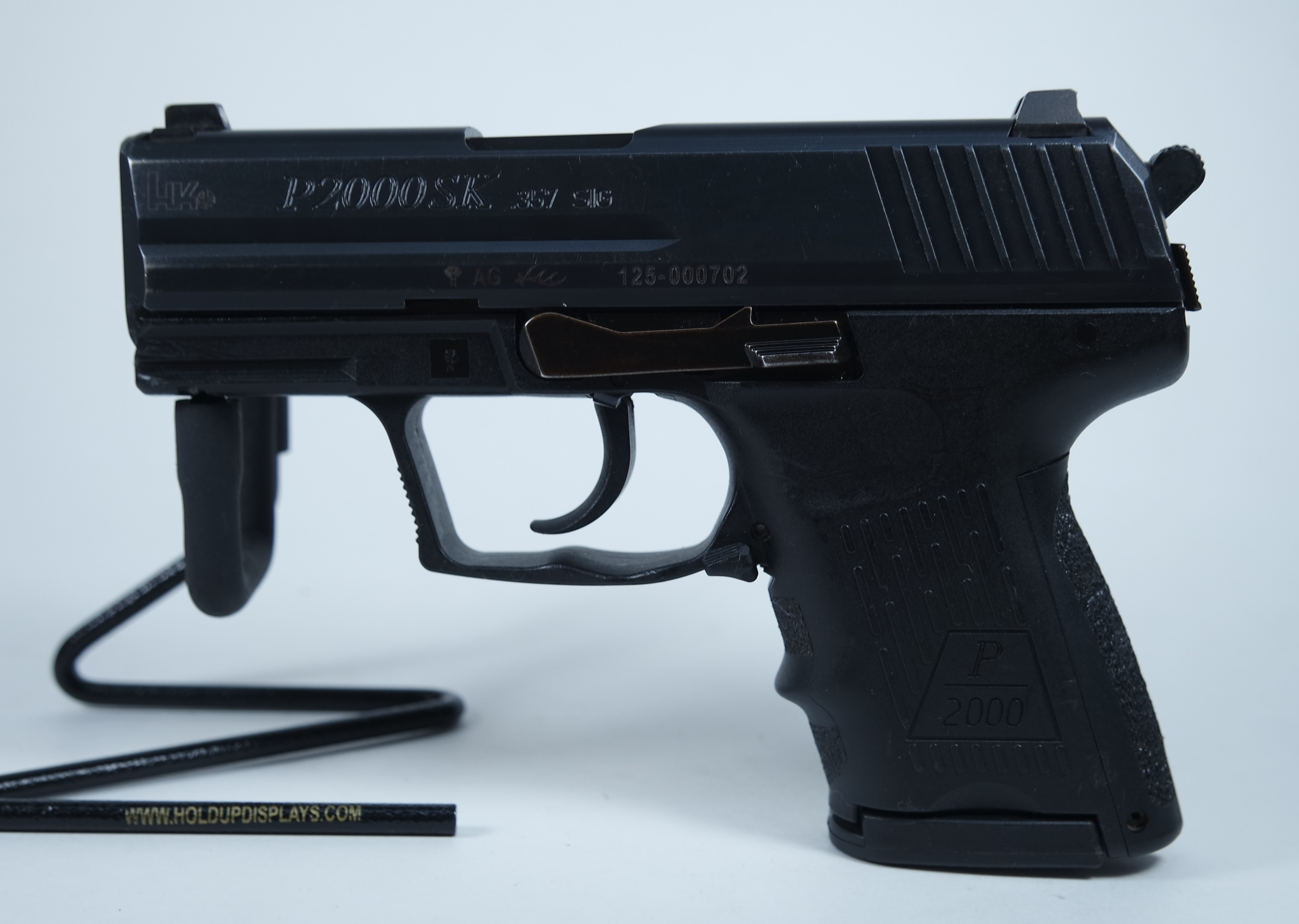 Heckler & Koch P2000SK 357sig with .40 S&W Barrel Pre-owned